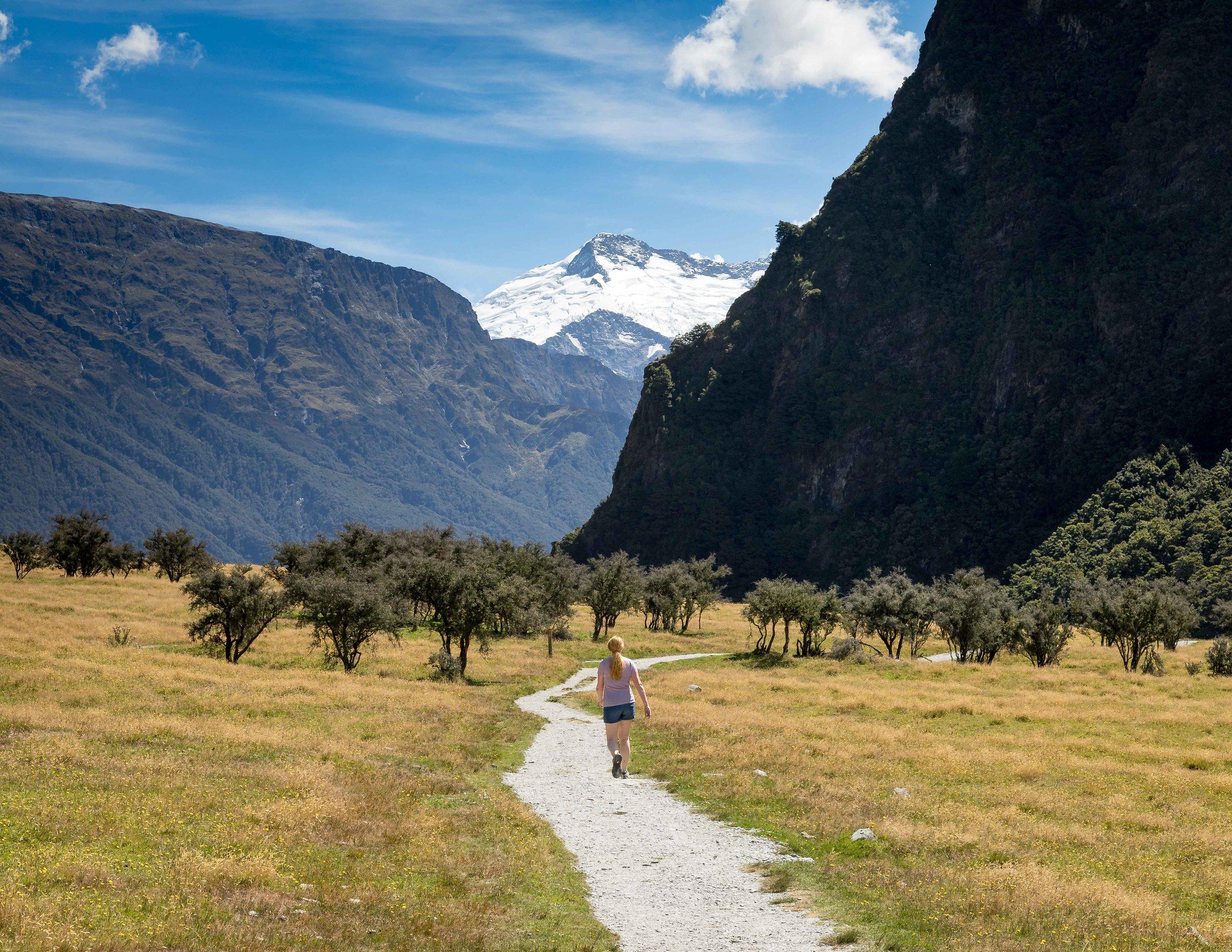 Rob Roy Glacier Trail, Wanaka, New Zealand