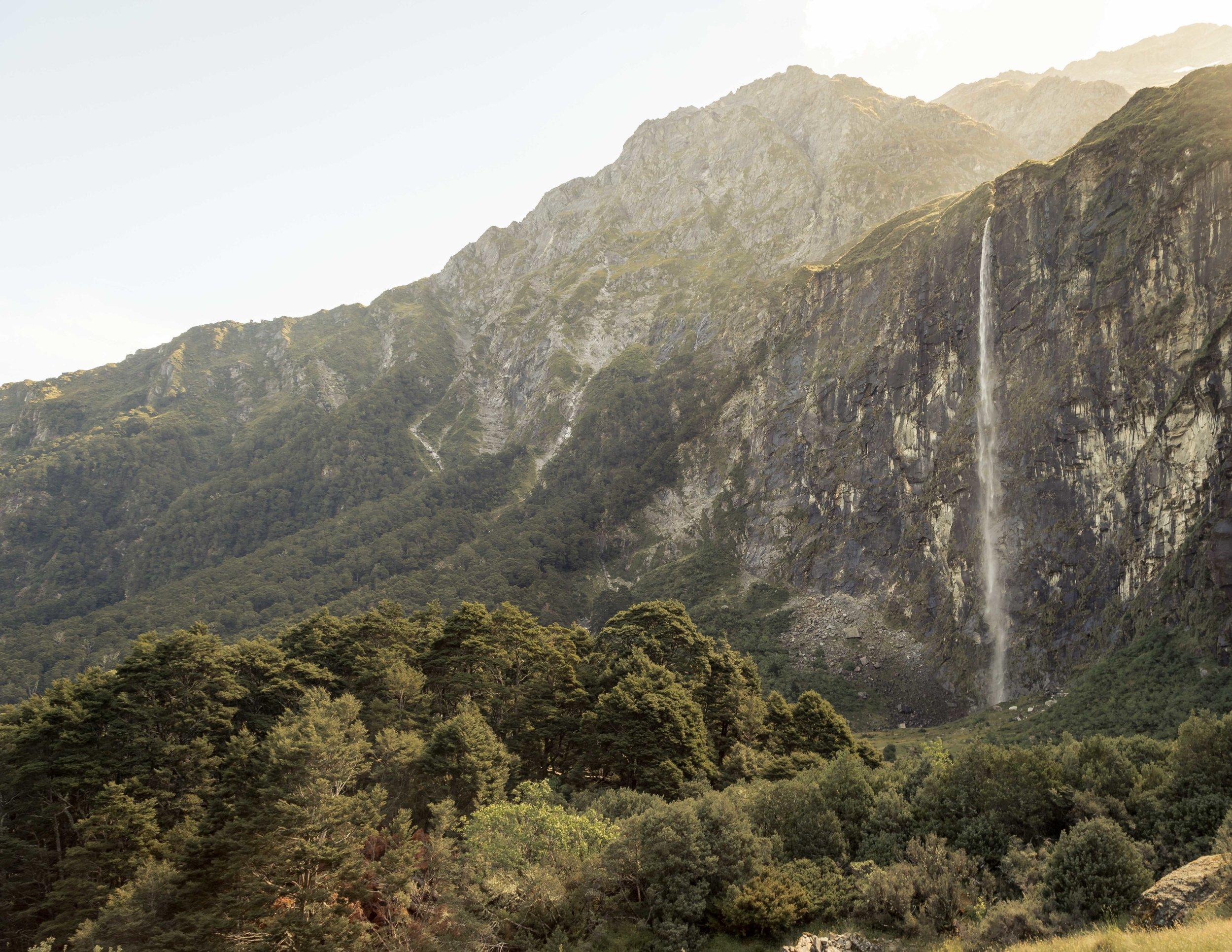 Rob Roy Glacier Trail, Wanaka New Zealand