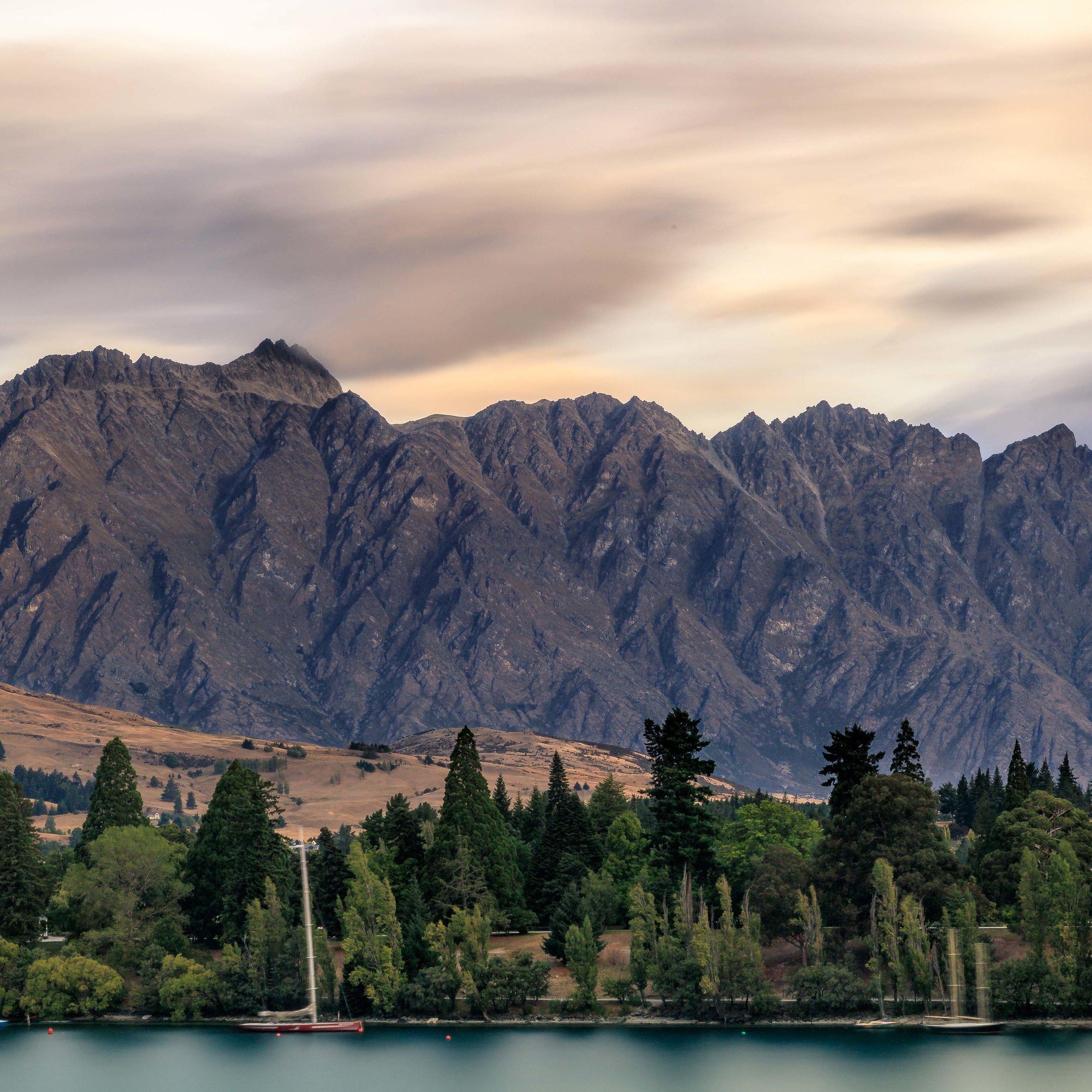 Queenstown, West Coast of New Zealand
