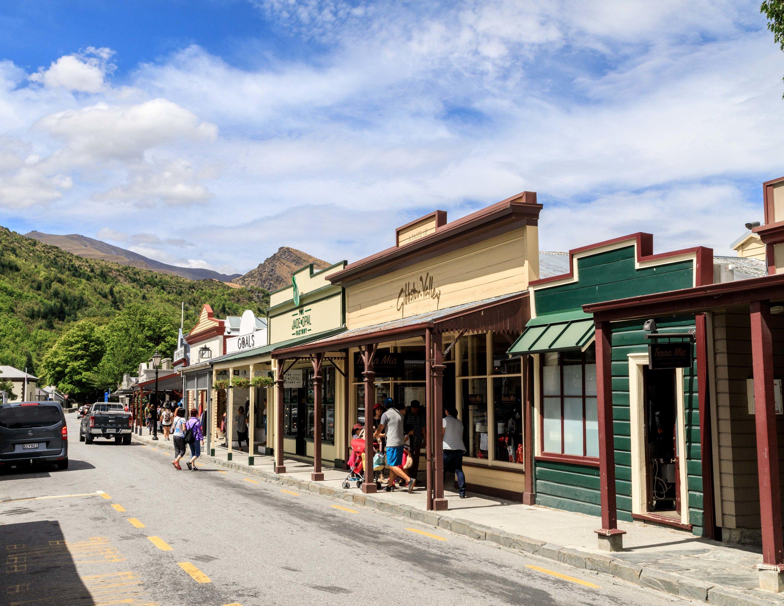 Arrowtown, West Coast of New Zealand
