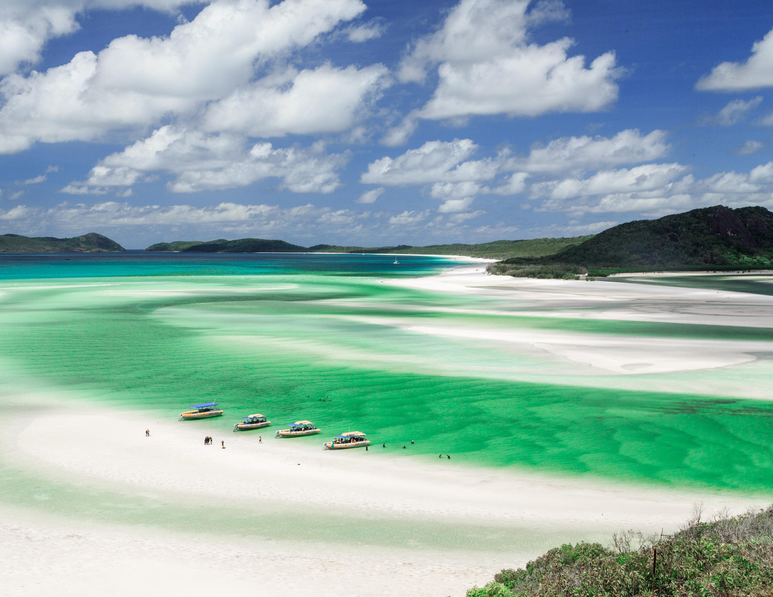 3 Week itinerary of Australia: Whitehaven Beach