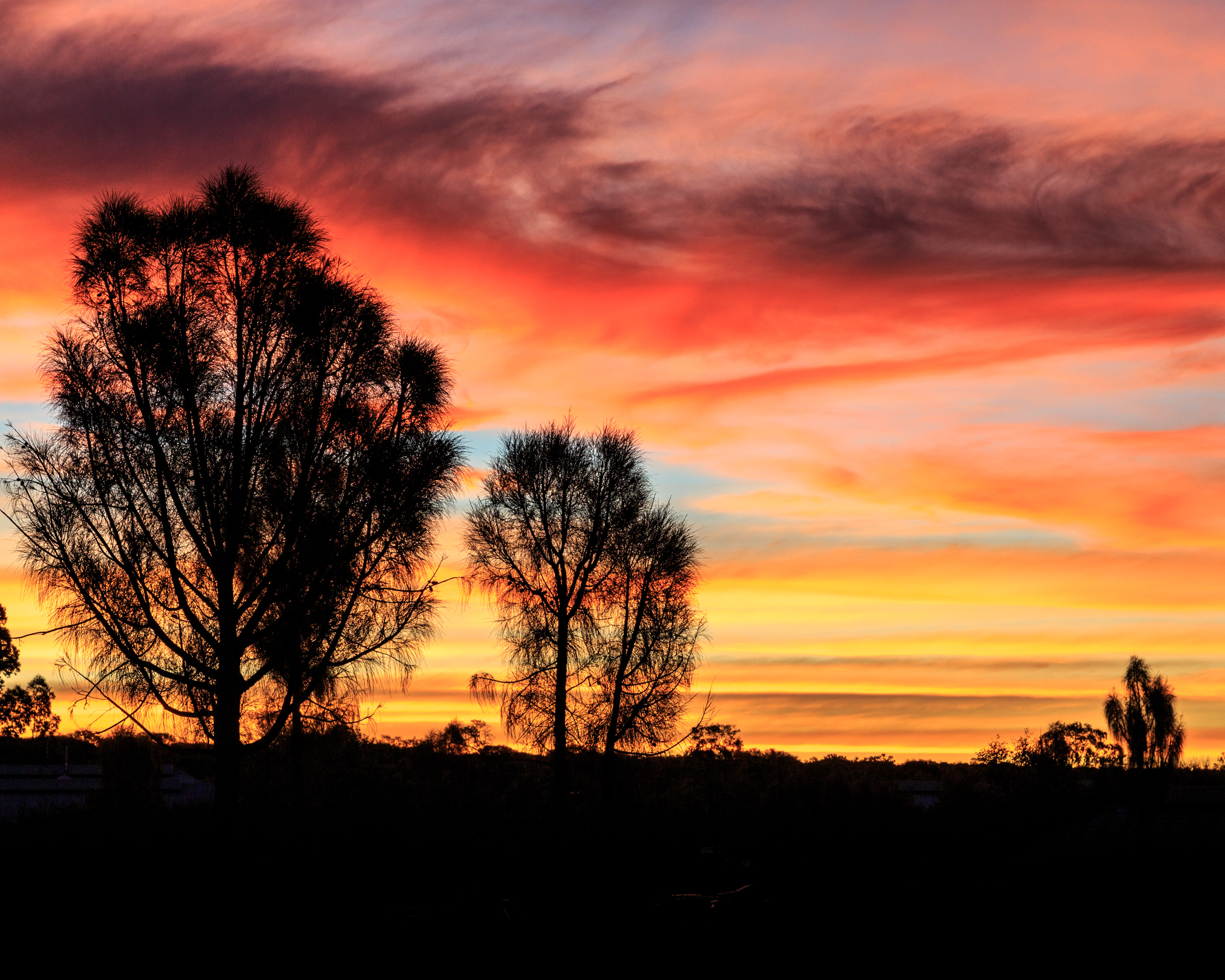 3 week itinerary of Australia; Outback sunsets in Kings Canyon