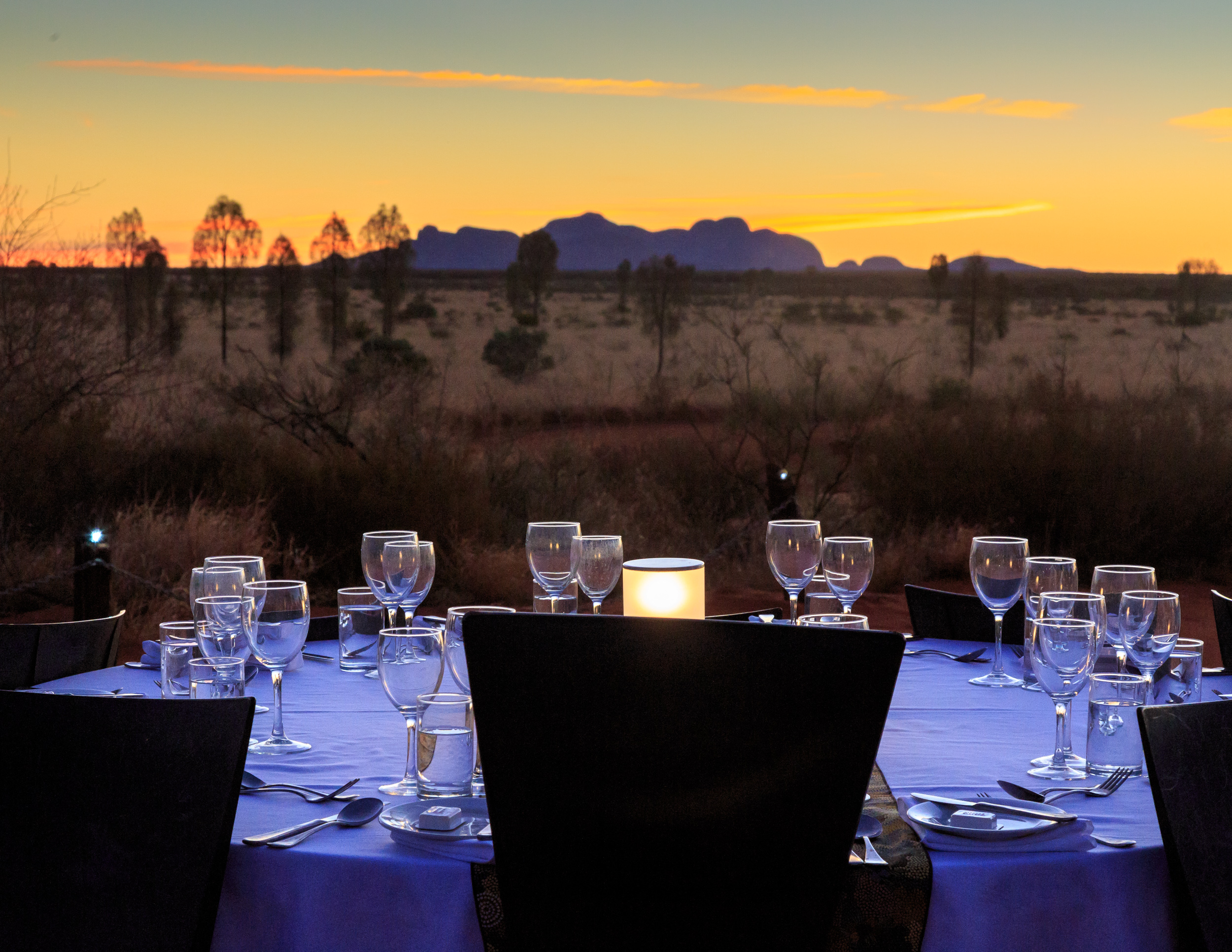 Best things to do at Uluru: Sounds of Silence Dinner