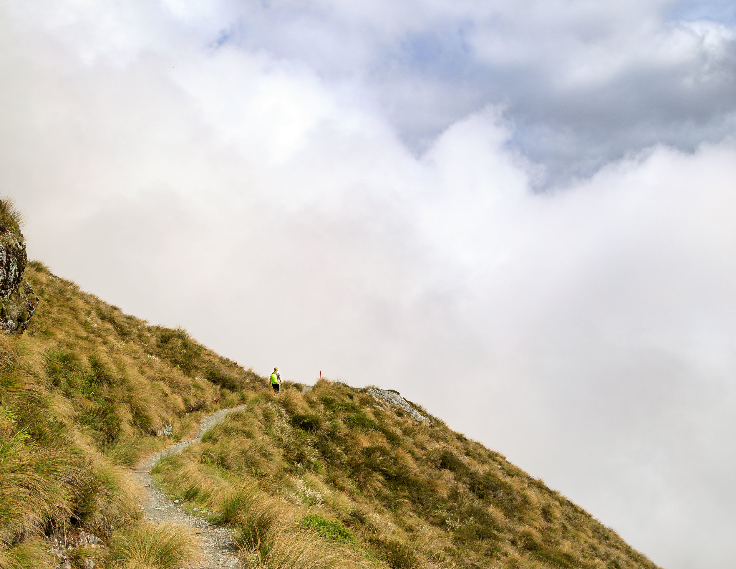The ridge just after Harris Saddle