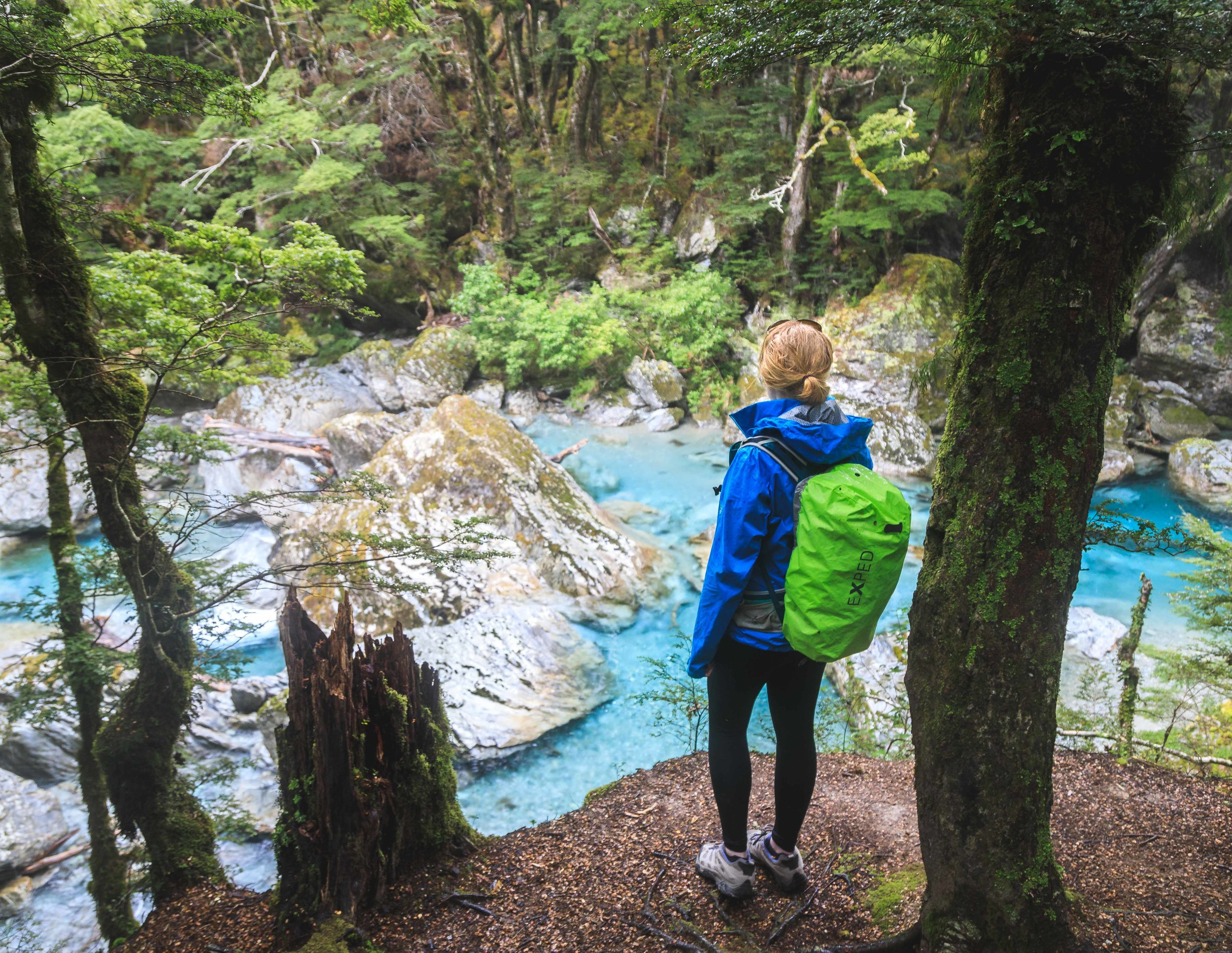 The Routeburn Track: The Route Burn River