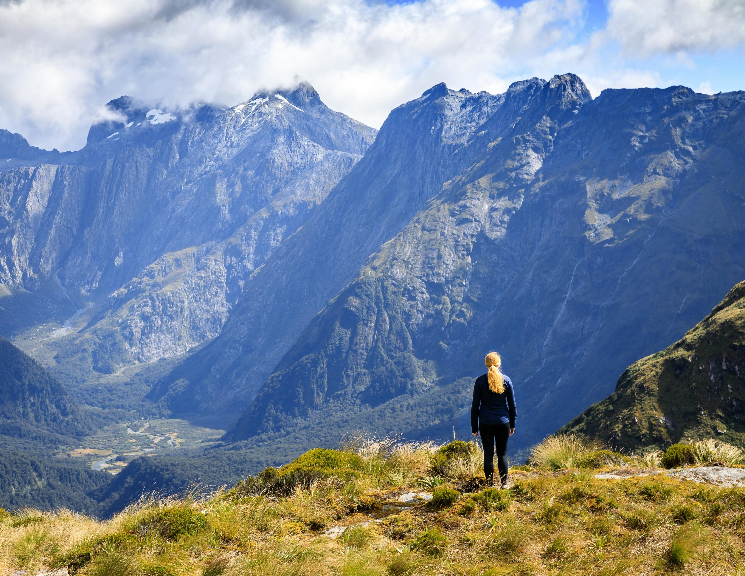 The Milford Track: the MacKinnon Pass