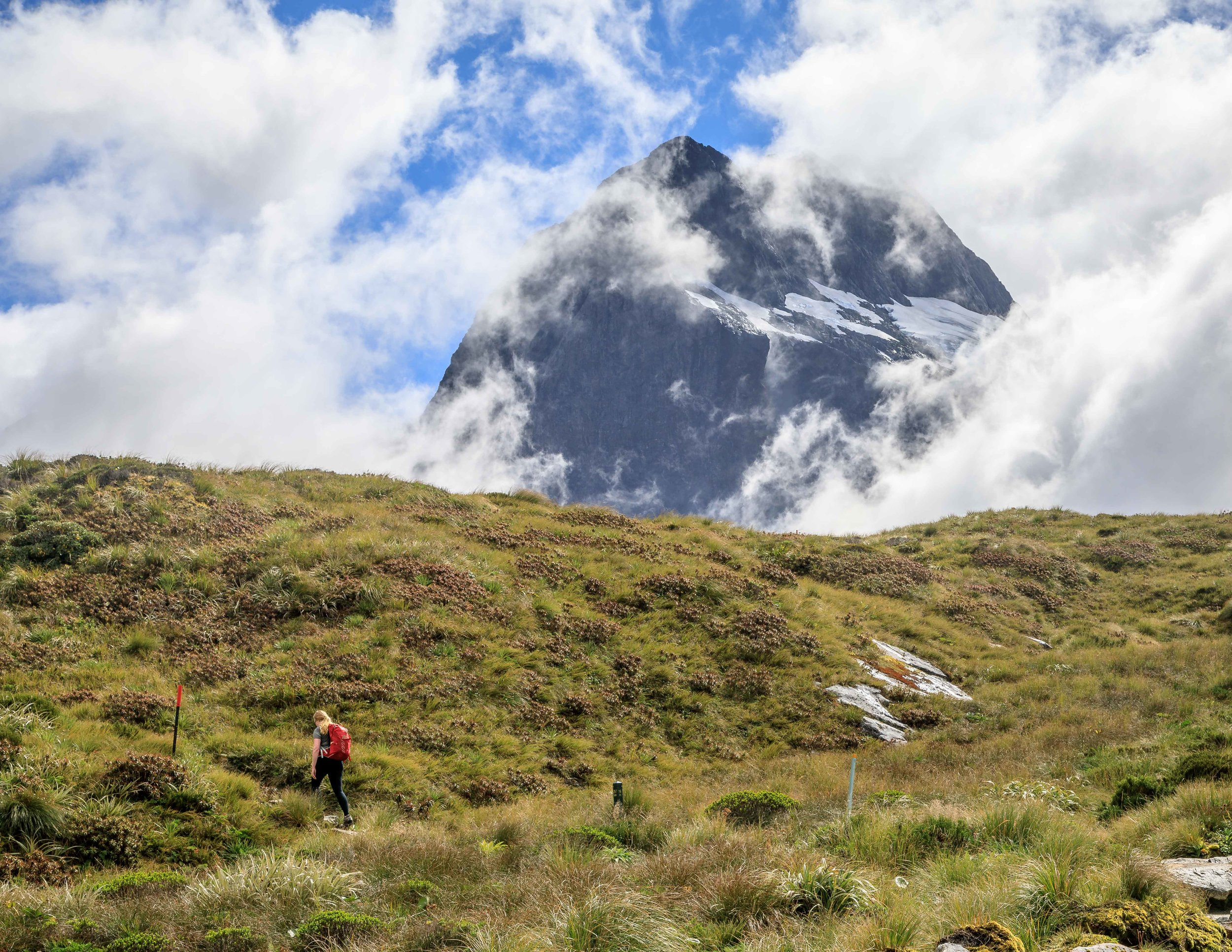 The MacKinnon Pass, The Milford Track