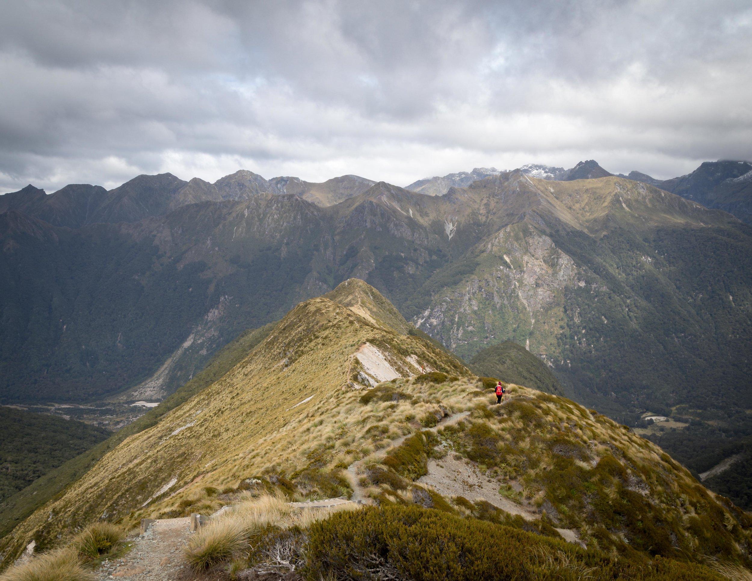 The final ridge on the Kepler Track