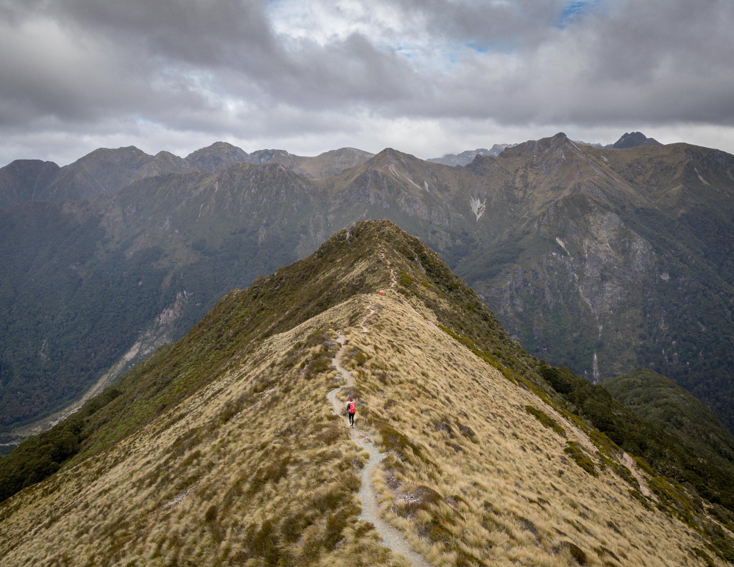 Final ridge on the Kepler Track