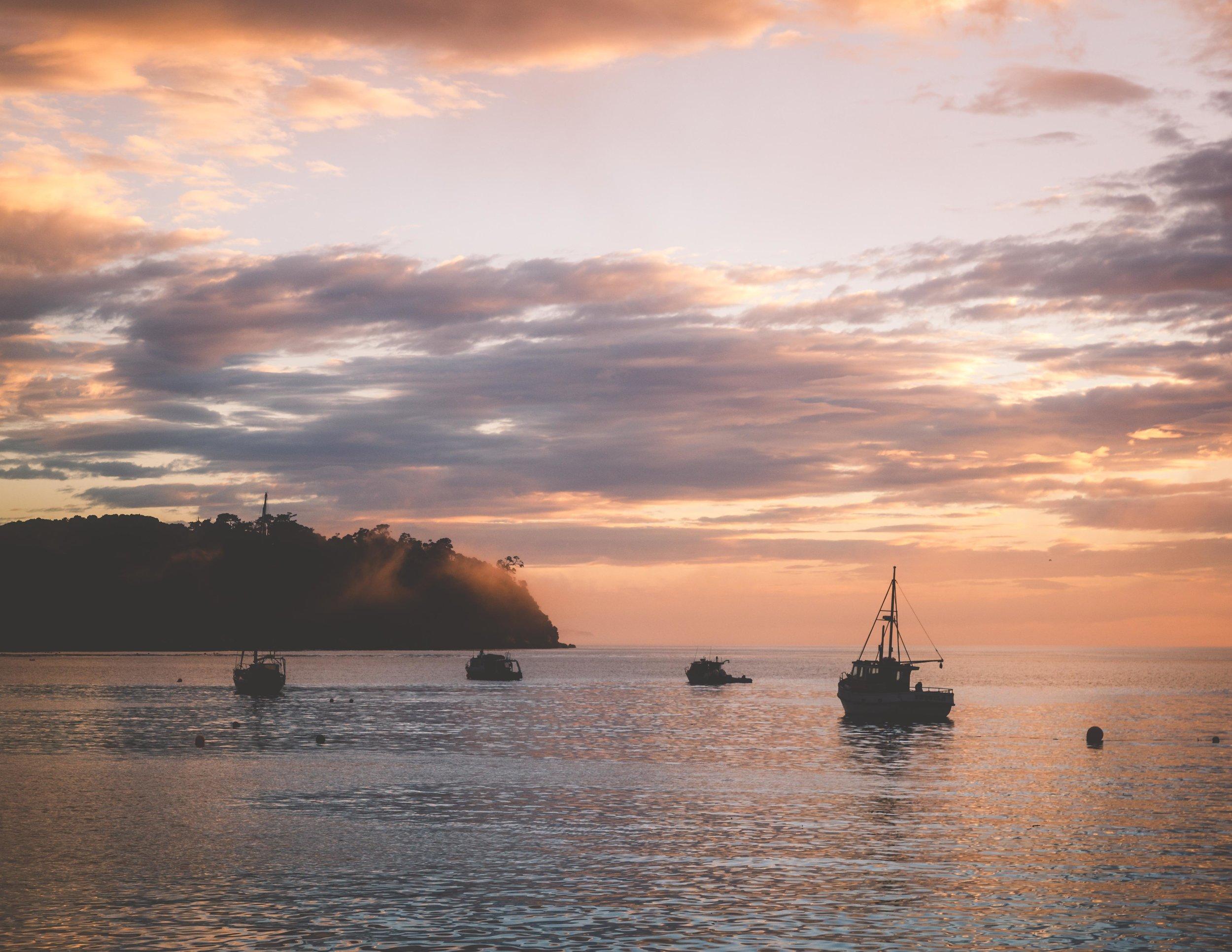 Sunrise from Oban, Stewart Island