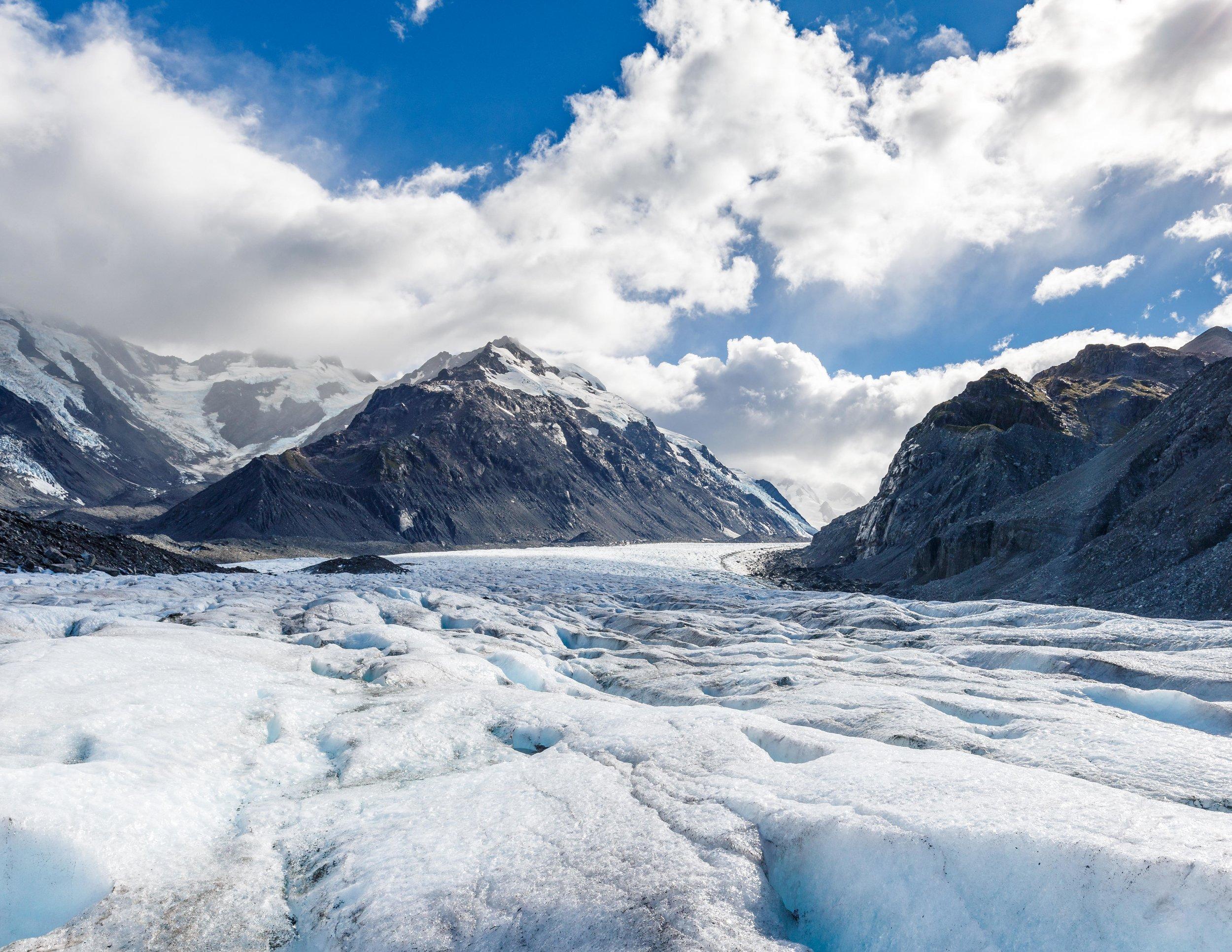 Mount Cook Heli-Hike on Tasman Glacier, New Zealand