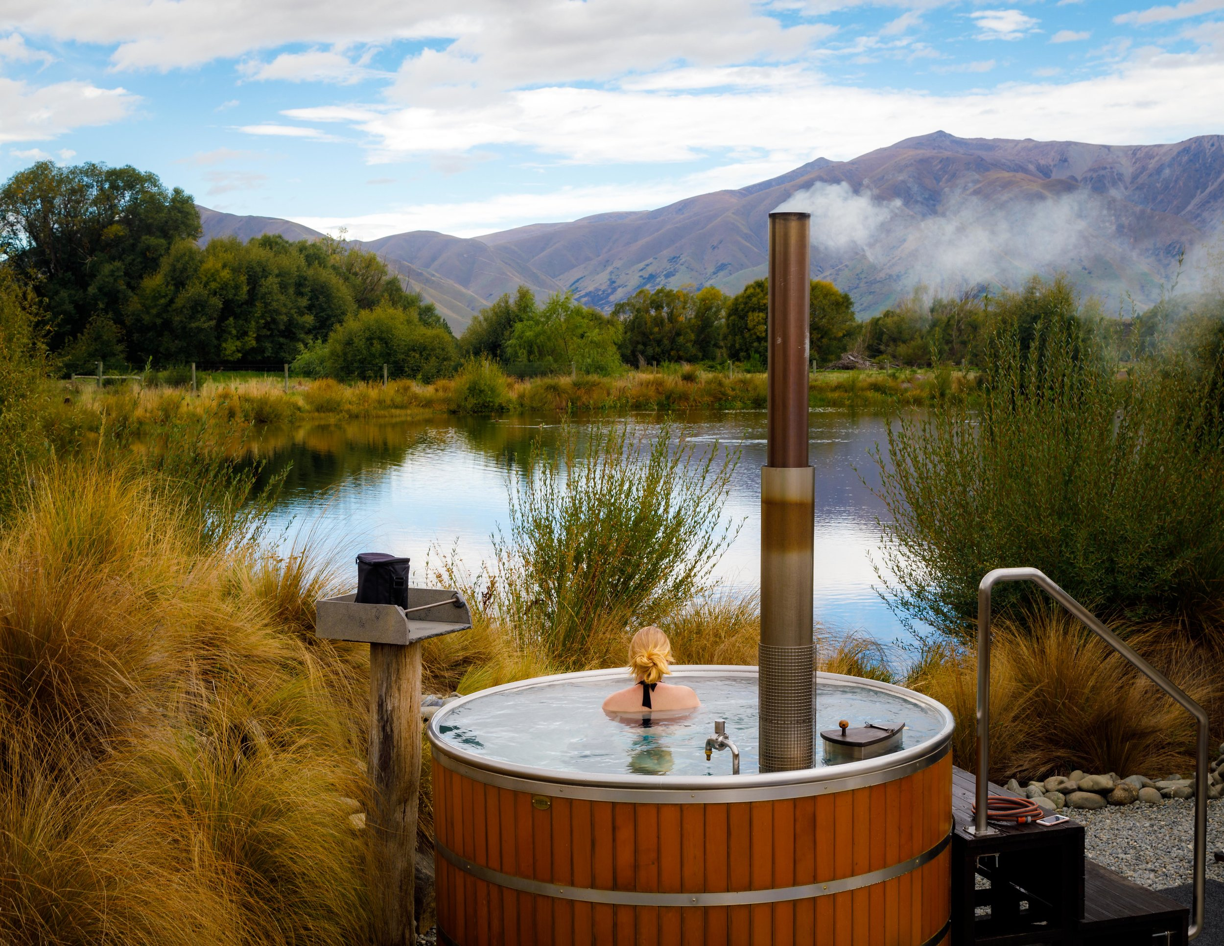 Best hot springs in New Zealand (South Island): Omarama near Twizel