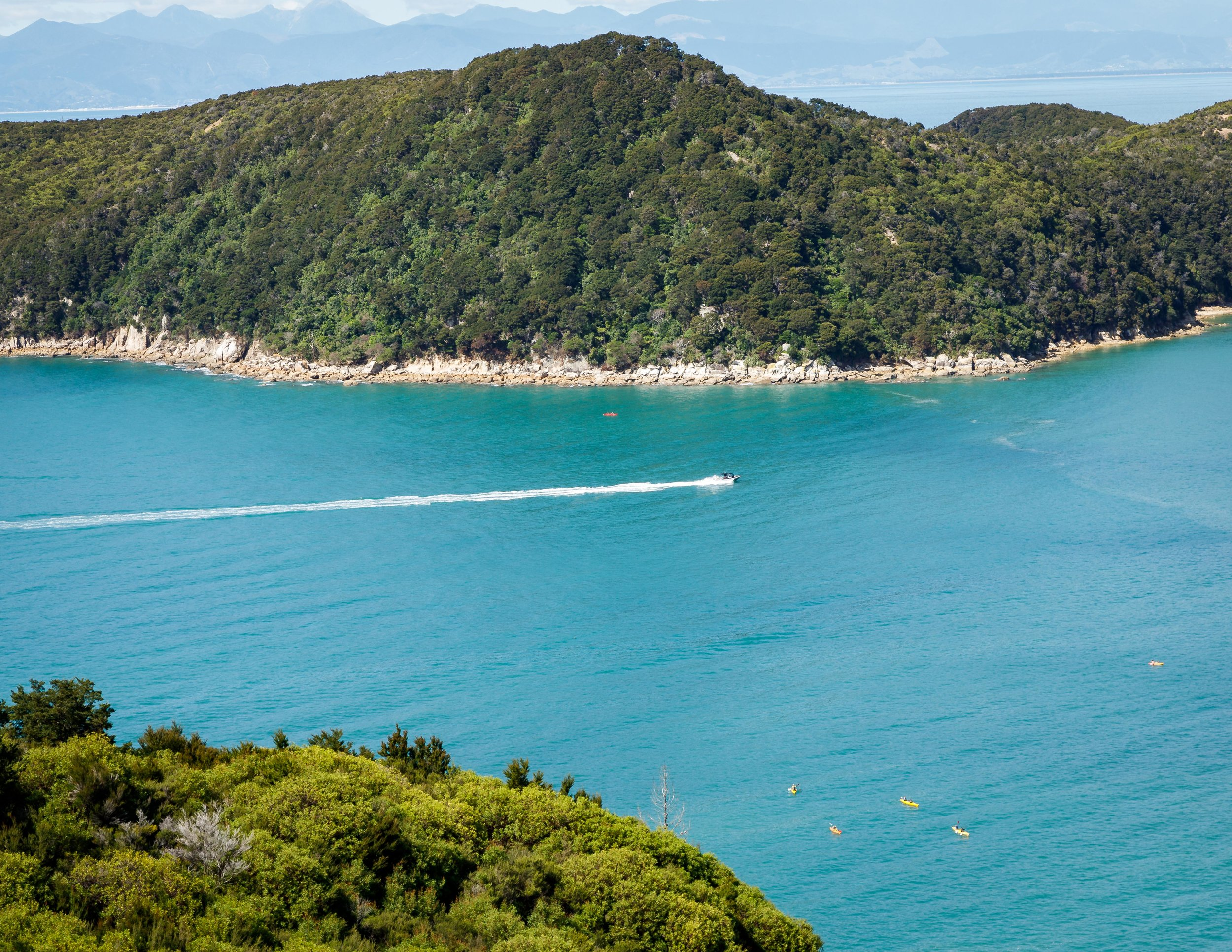 The views from near Anchorage, Abel Tasman Track