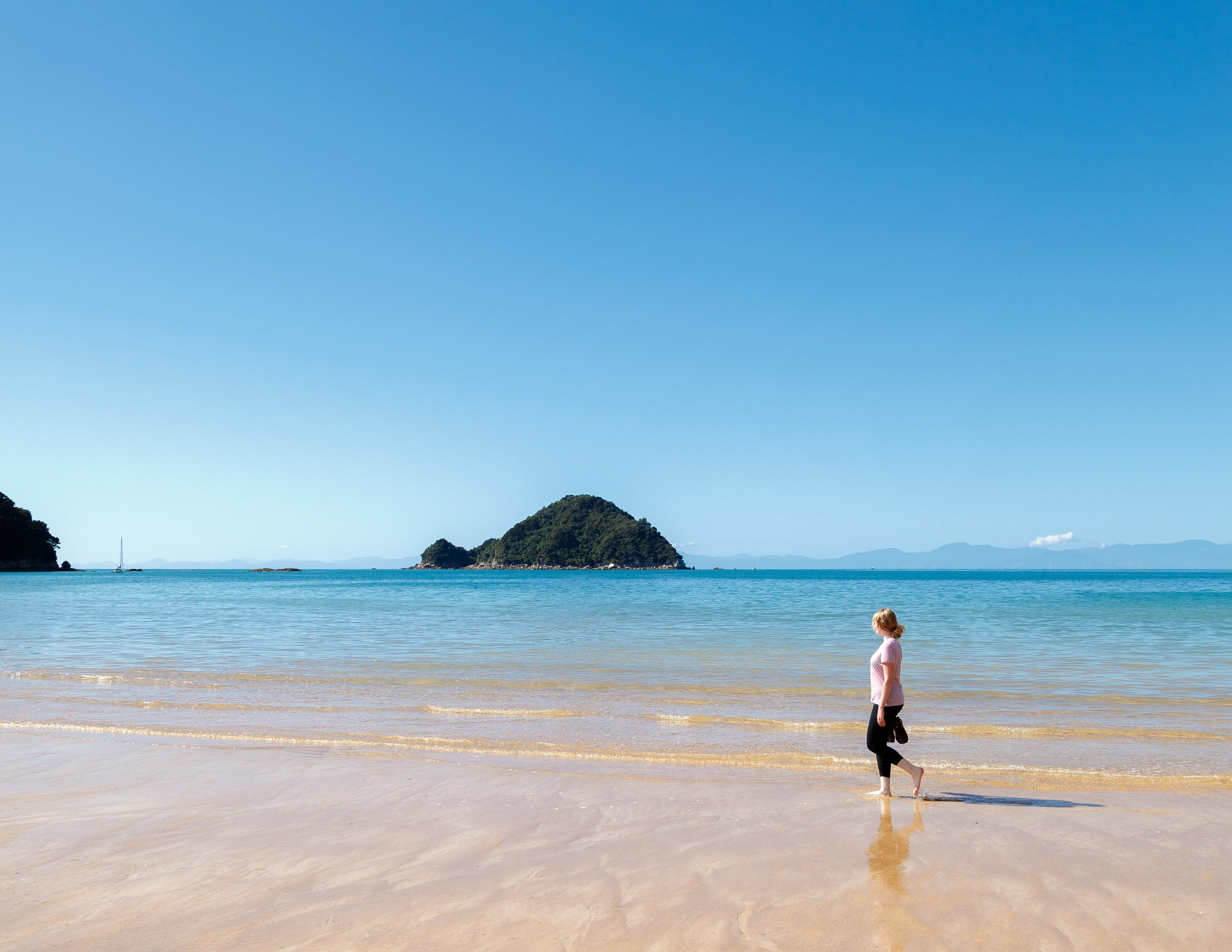 Onetahuti Beach, Abel Tasman Track