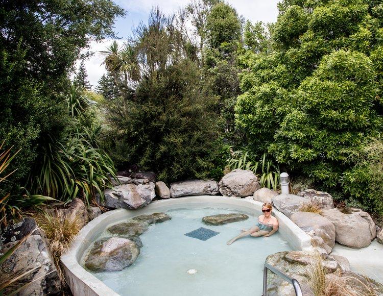 Best Hot Springs in New Zealand: Hamner Springs
