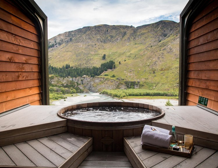 Best hot springs in New Zealand (South Island): Onsen Hot Pools in Queenstown