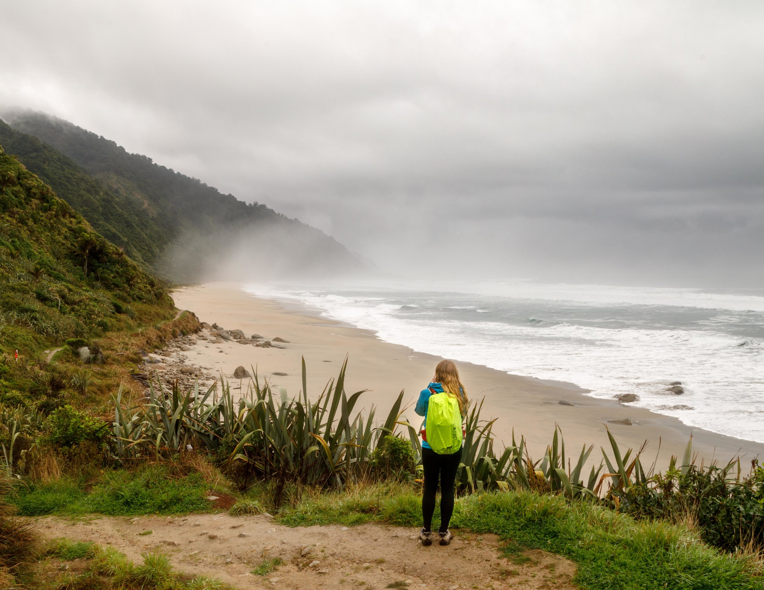 The beaches on Heaphy Track
