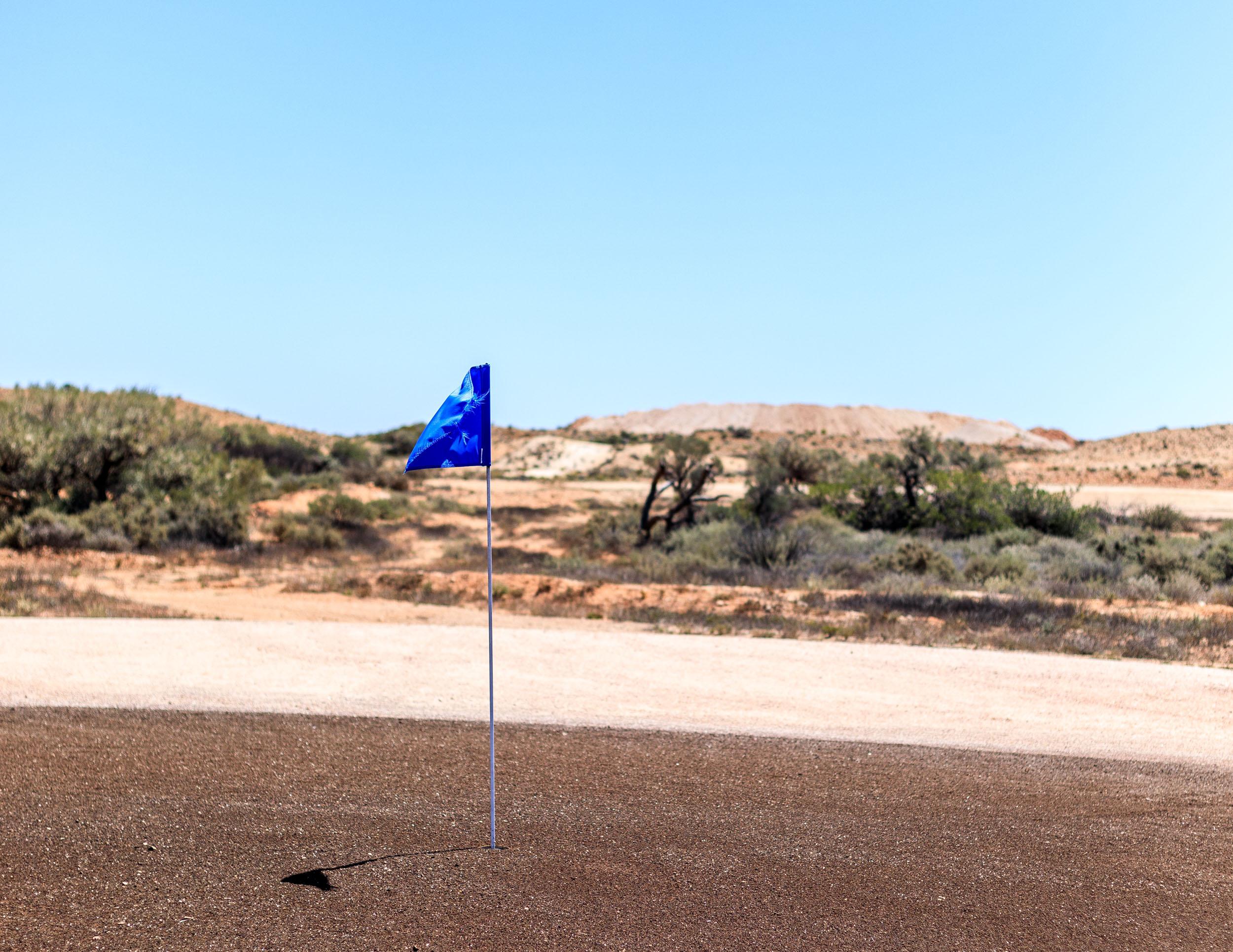 Coober Pedy Golf Course, a course with no grass