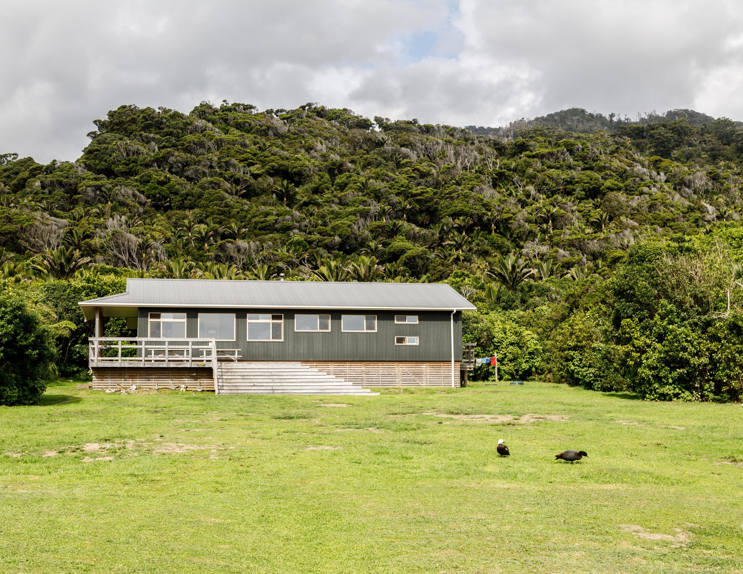 Heaphy Hut: one of the new huts on the track