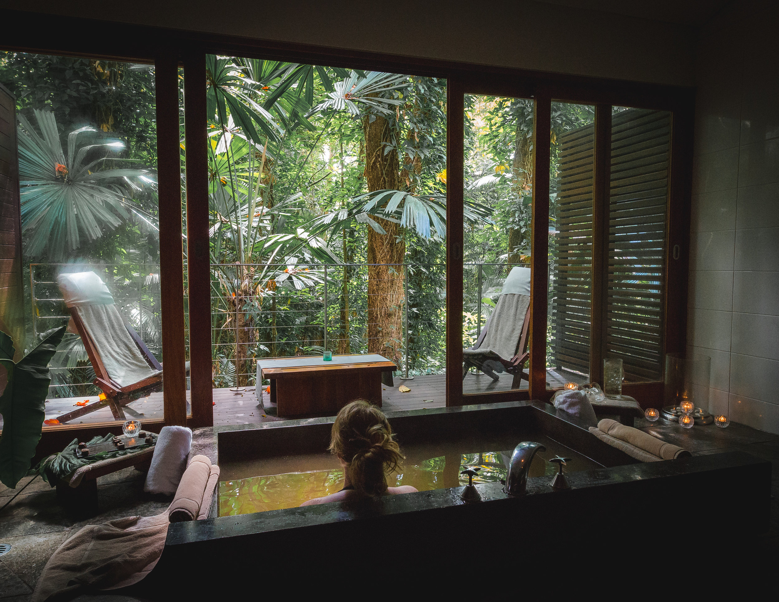 The spa at Silky Oaks Lodge, Mossman