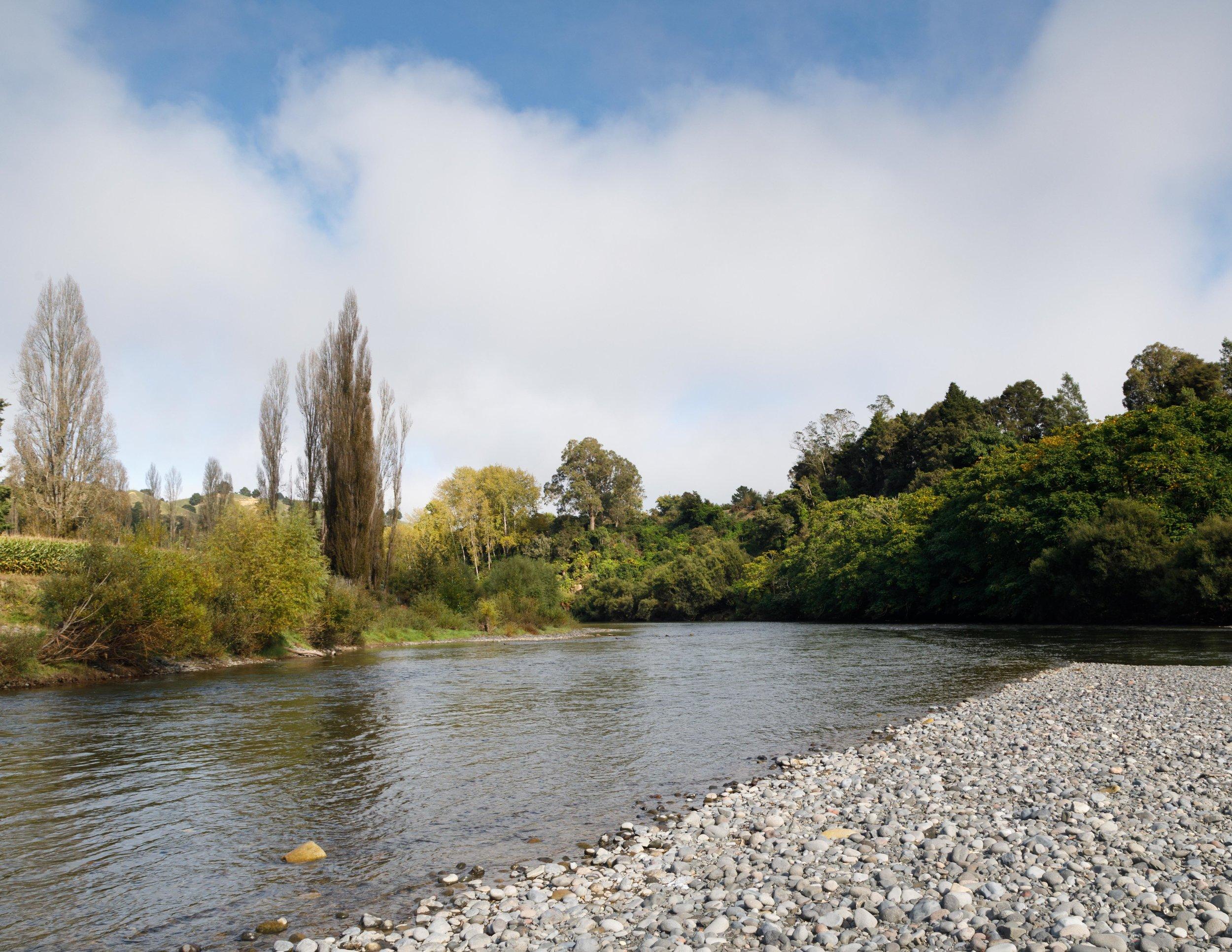 The start of the Whanganui Journey: Taumaranui