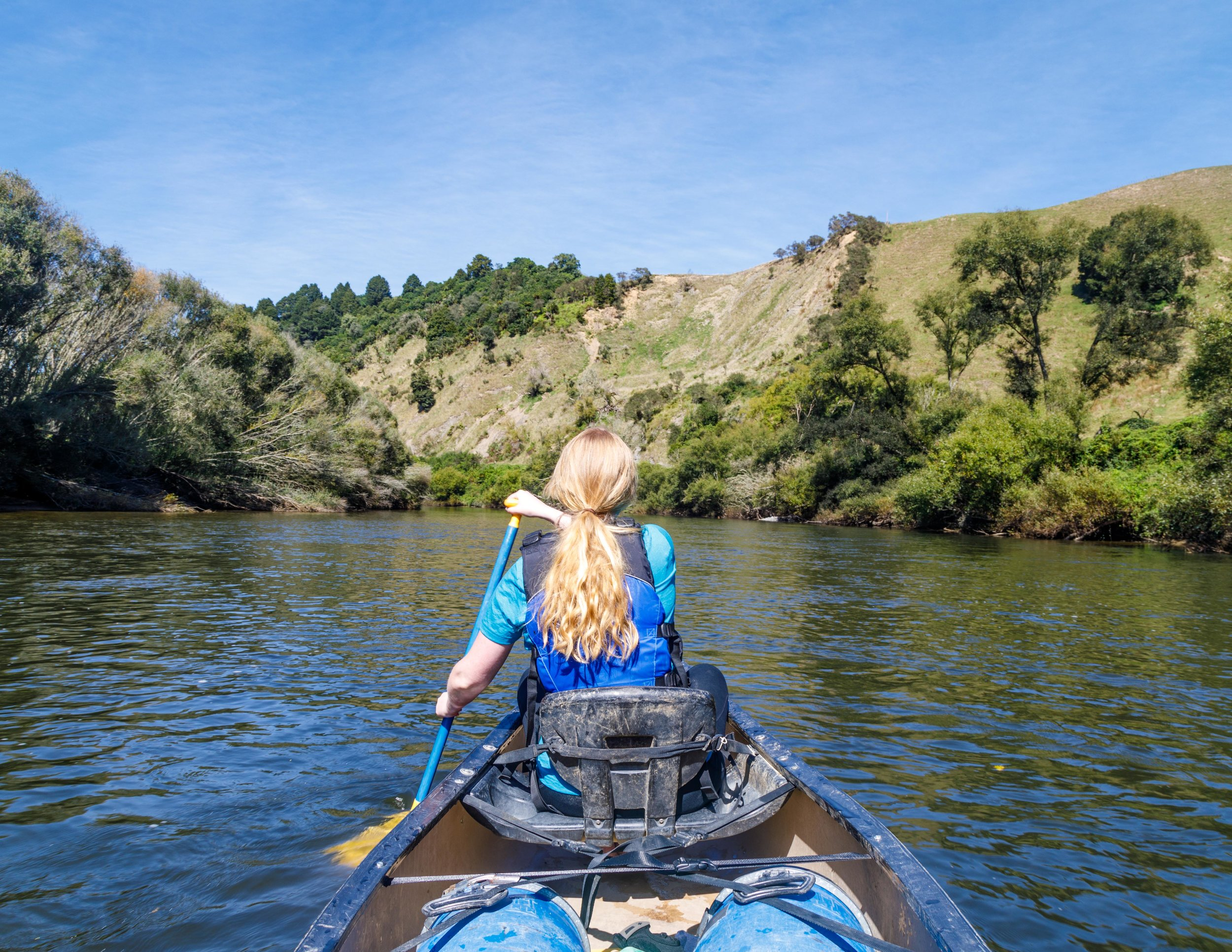Whanganui River Journey Rapids