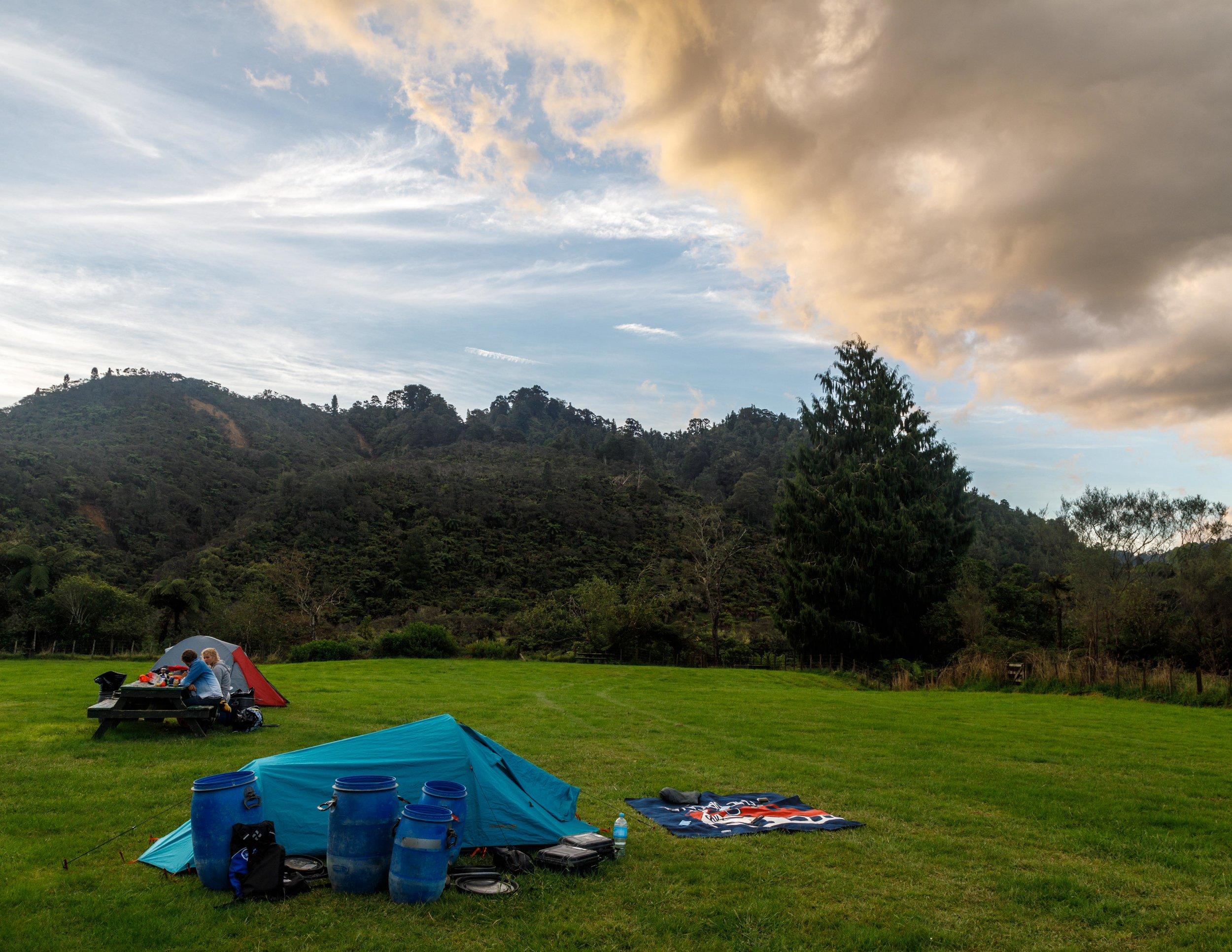 Whakahoro Campsite
