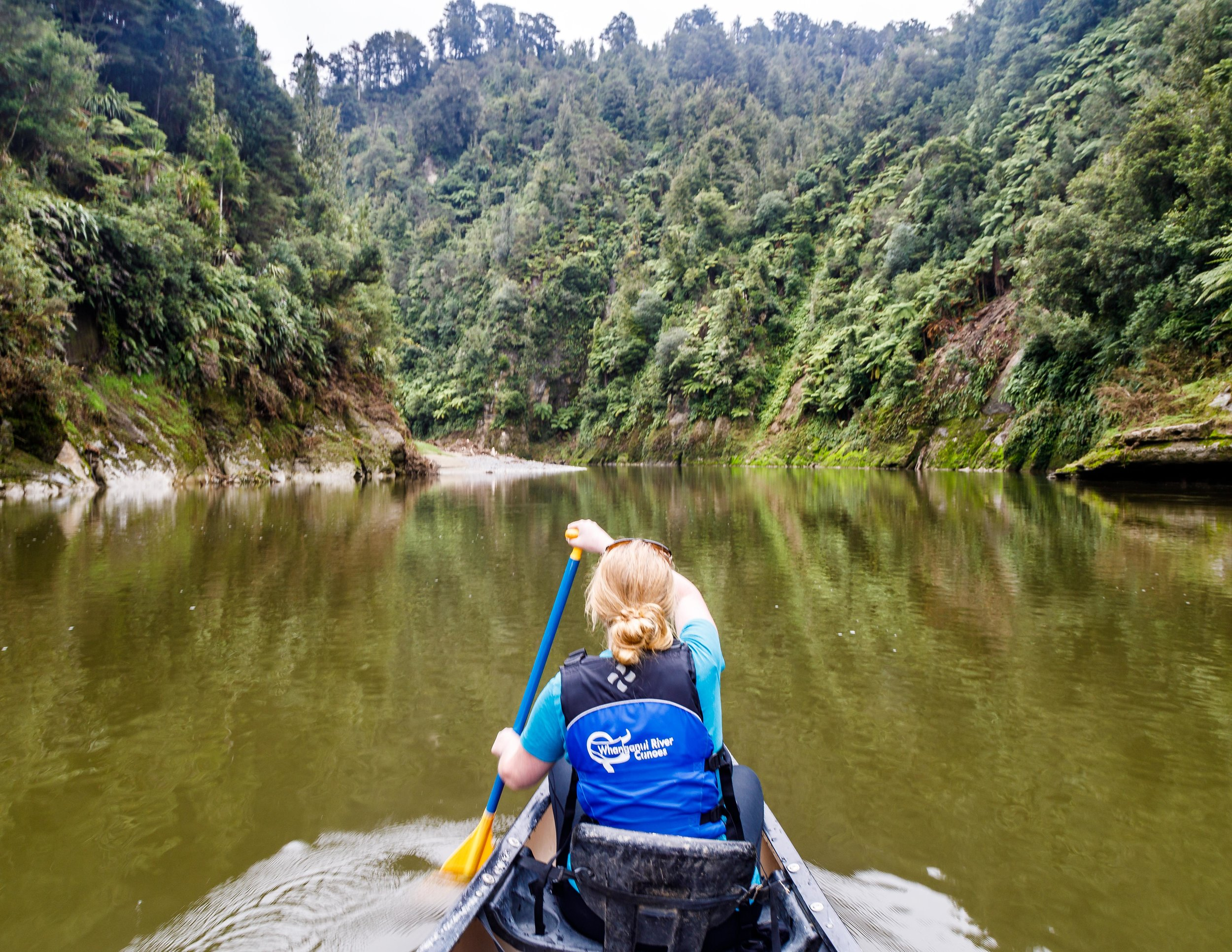 Difficulty of the Whanganui River Journey