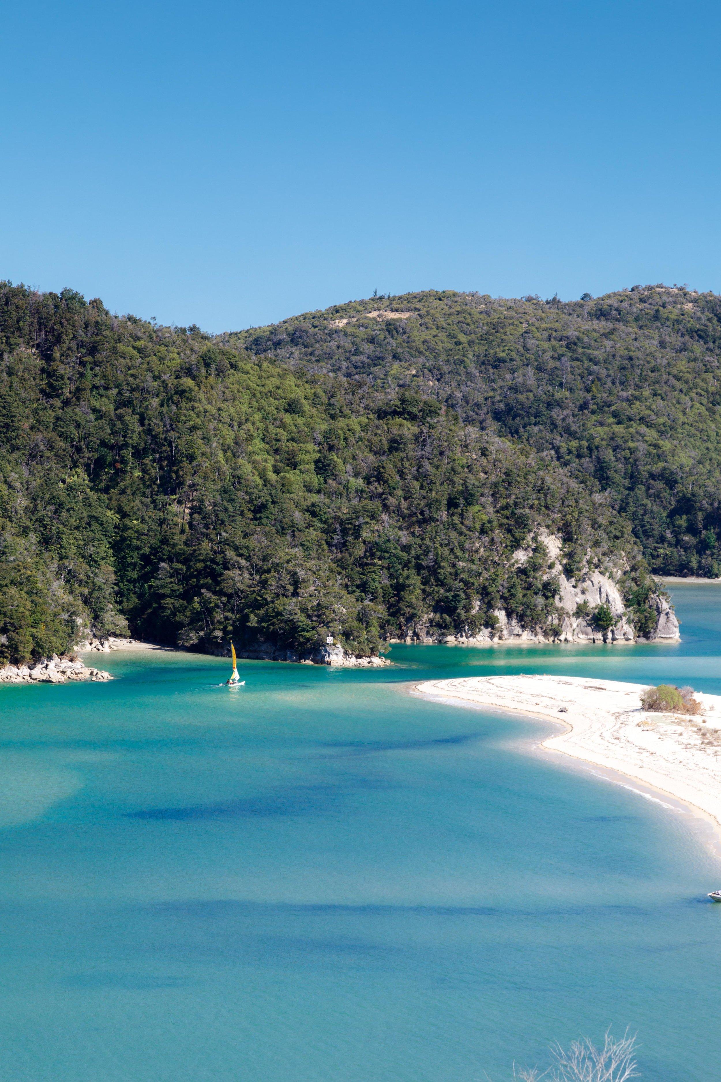 Instagrammable spots of New Zealand: Torrent Bay, Abel Tasman