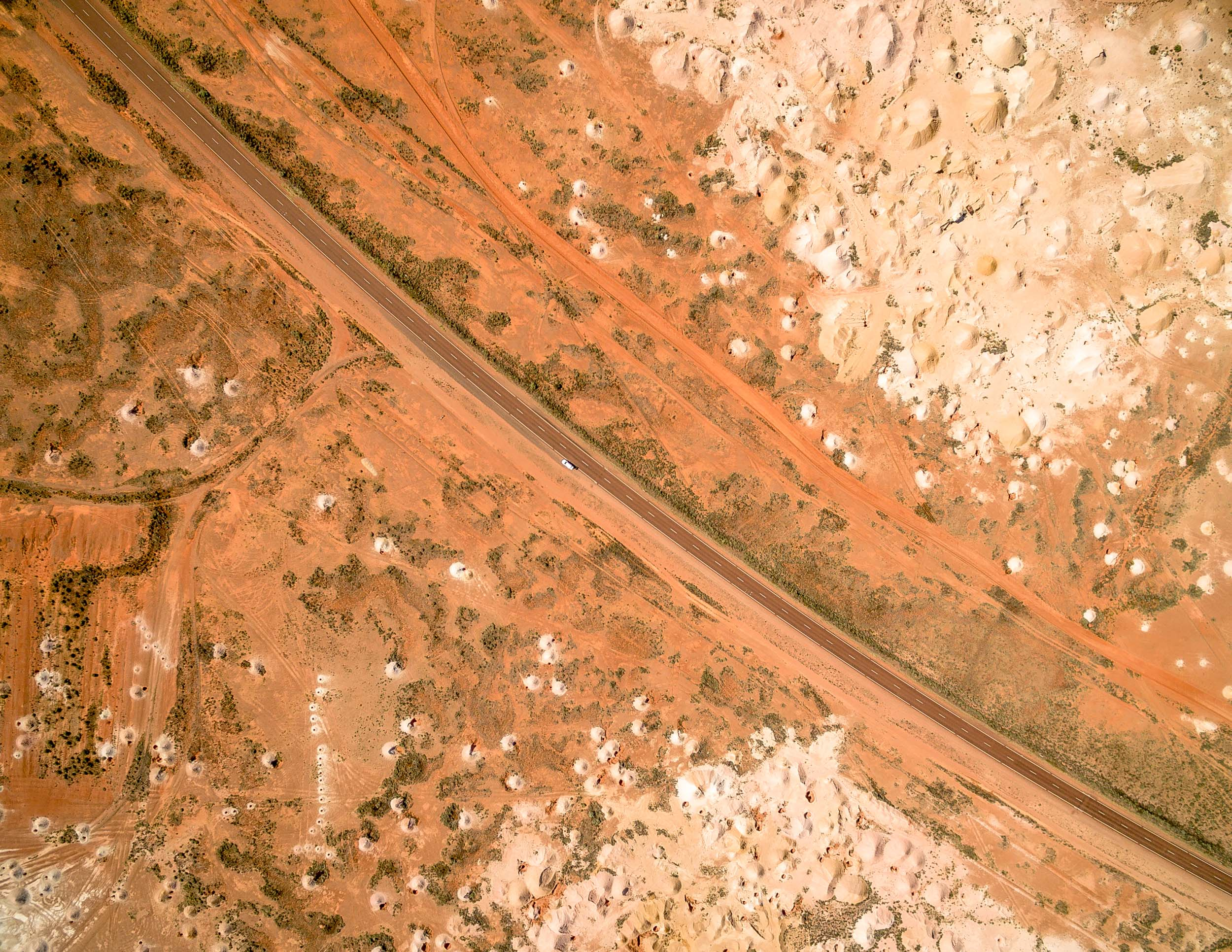 The Opal Mines of Coober Pedy, South Australia