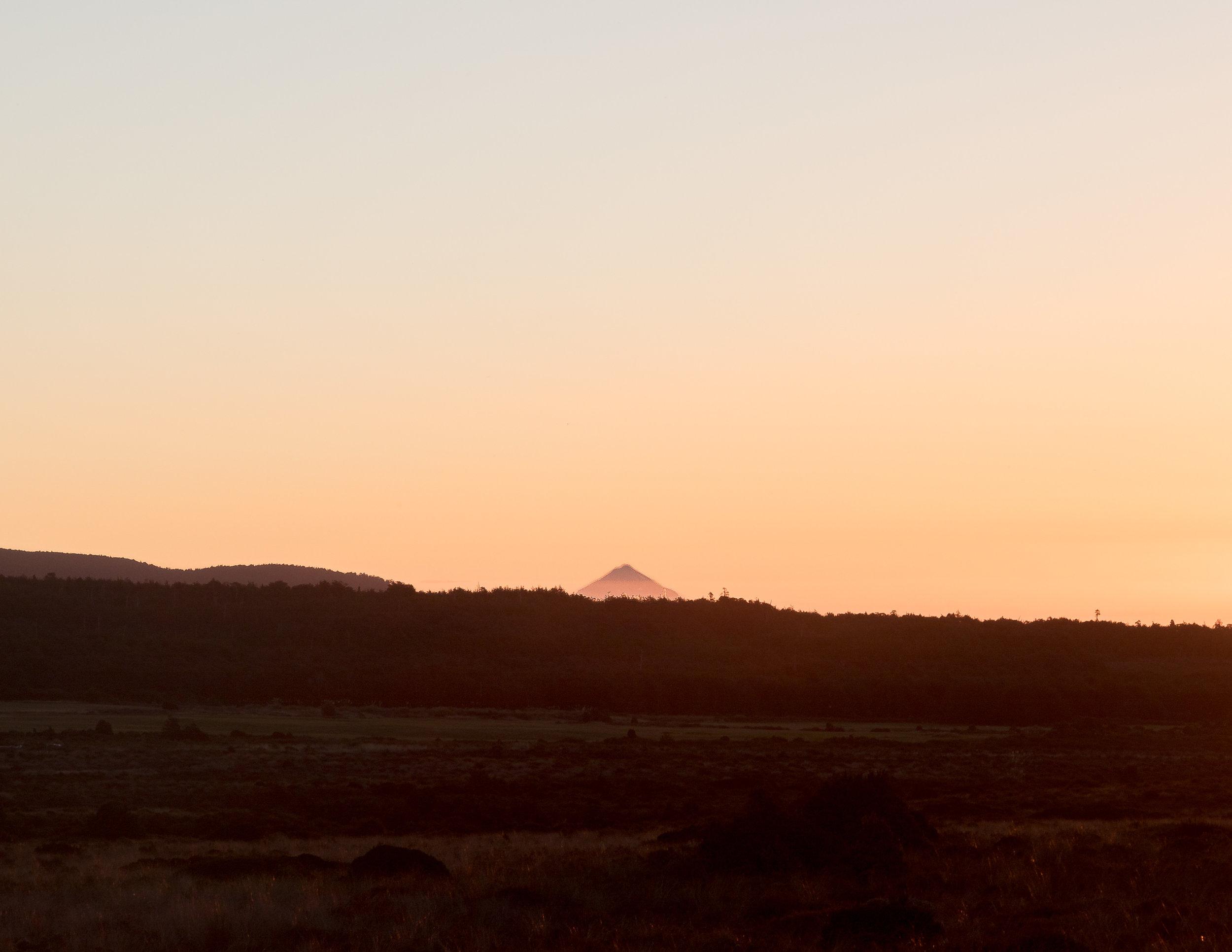 Mount Taranaki from the Tongariro Northern Circuit
