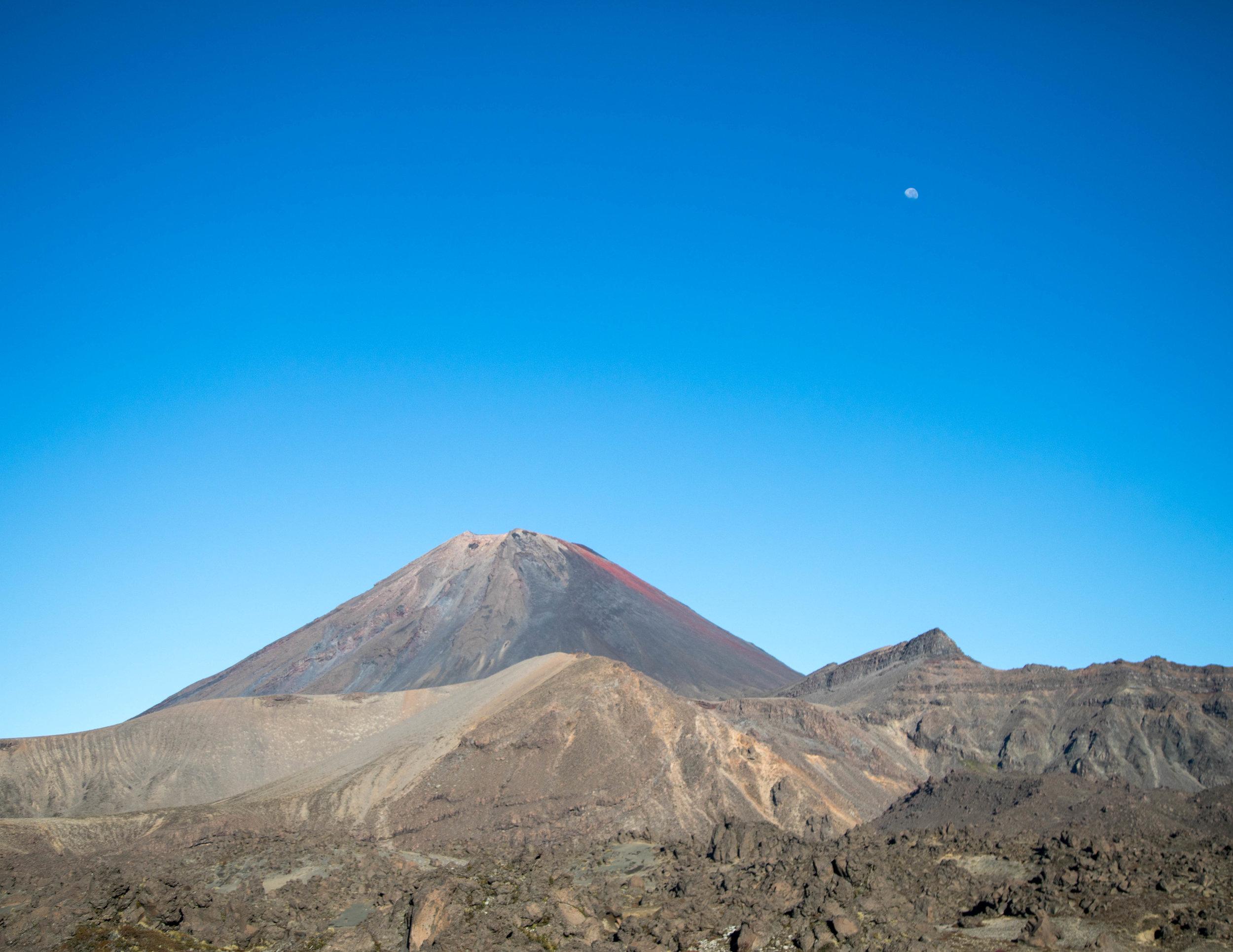 Mount Ngauruhoe in full glory