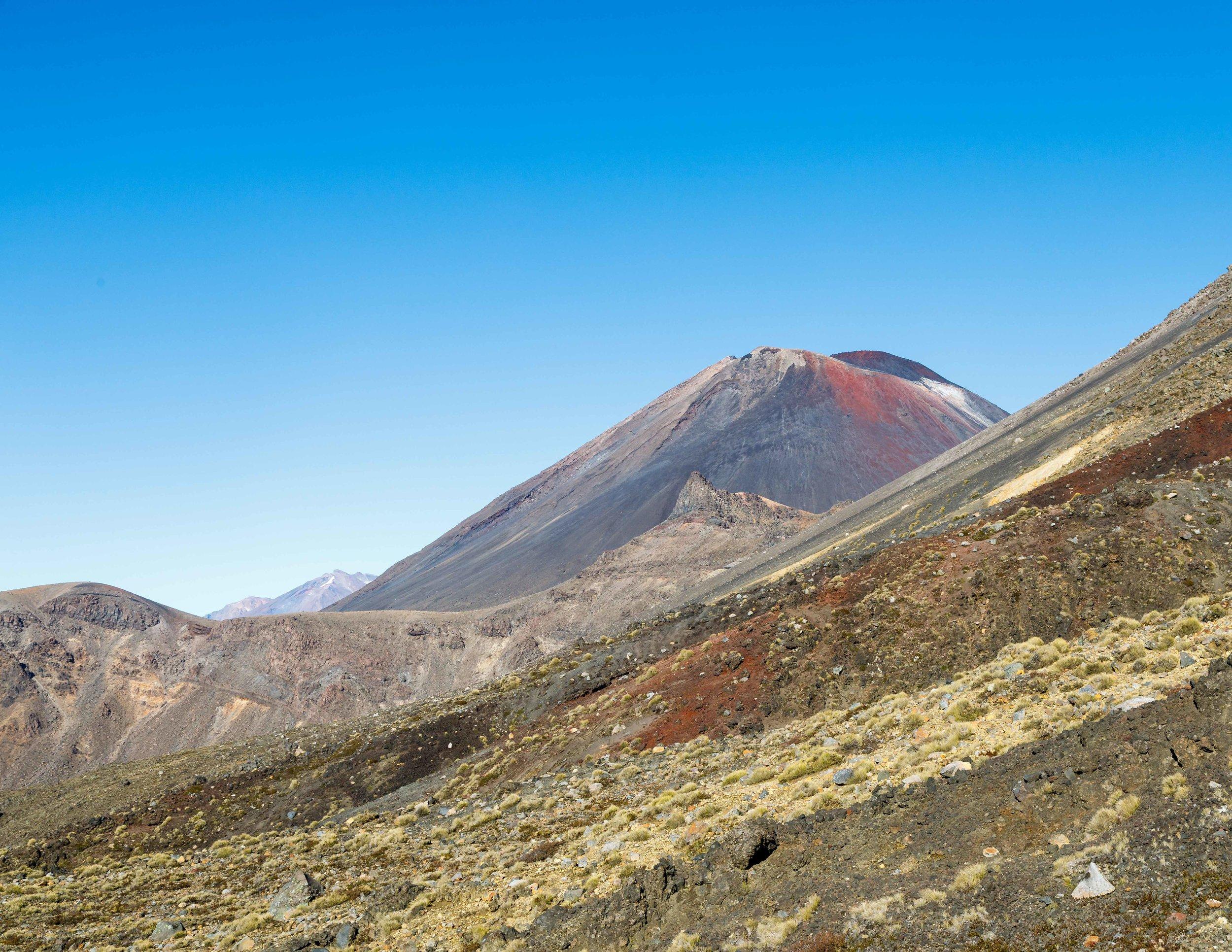 Mount Ngauruhoe and Mount Ruapheu in the distance