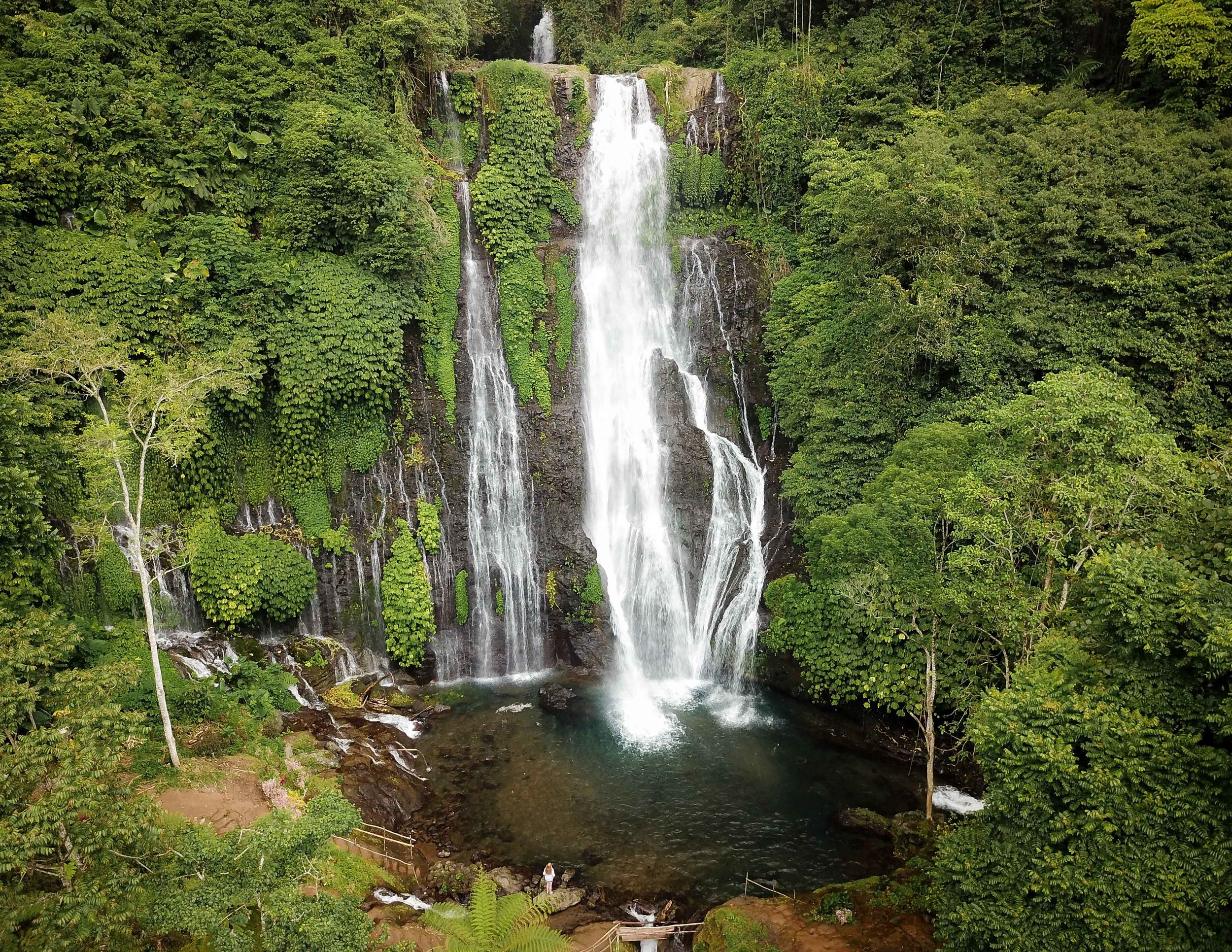 Best time to visit Banyumala Waterfall