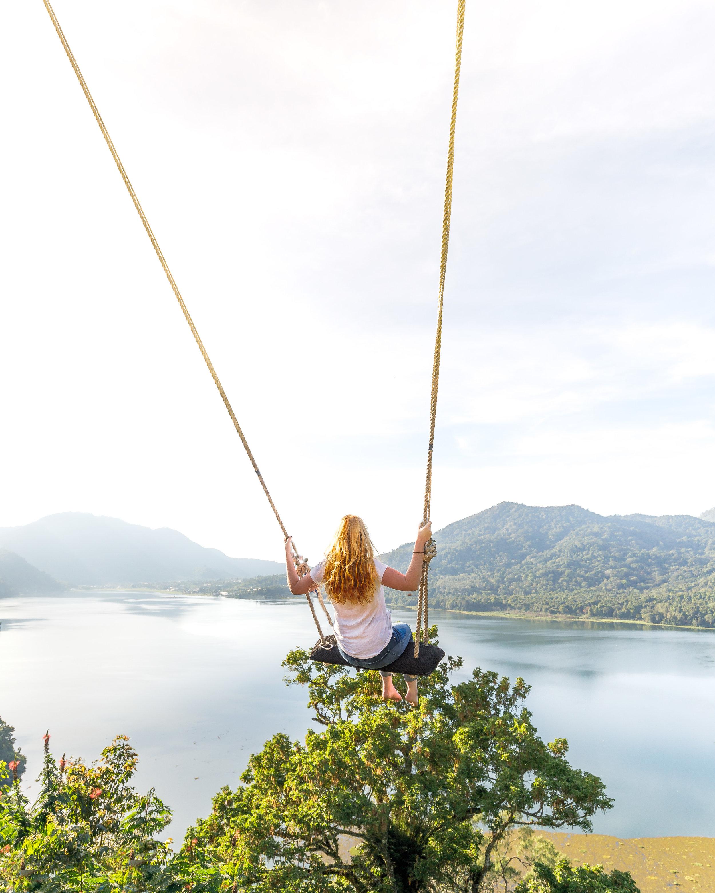 Most Instagrammable spots in Bali: Hidden Hills, Wanagiri