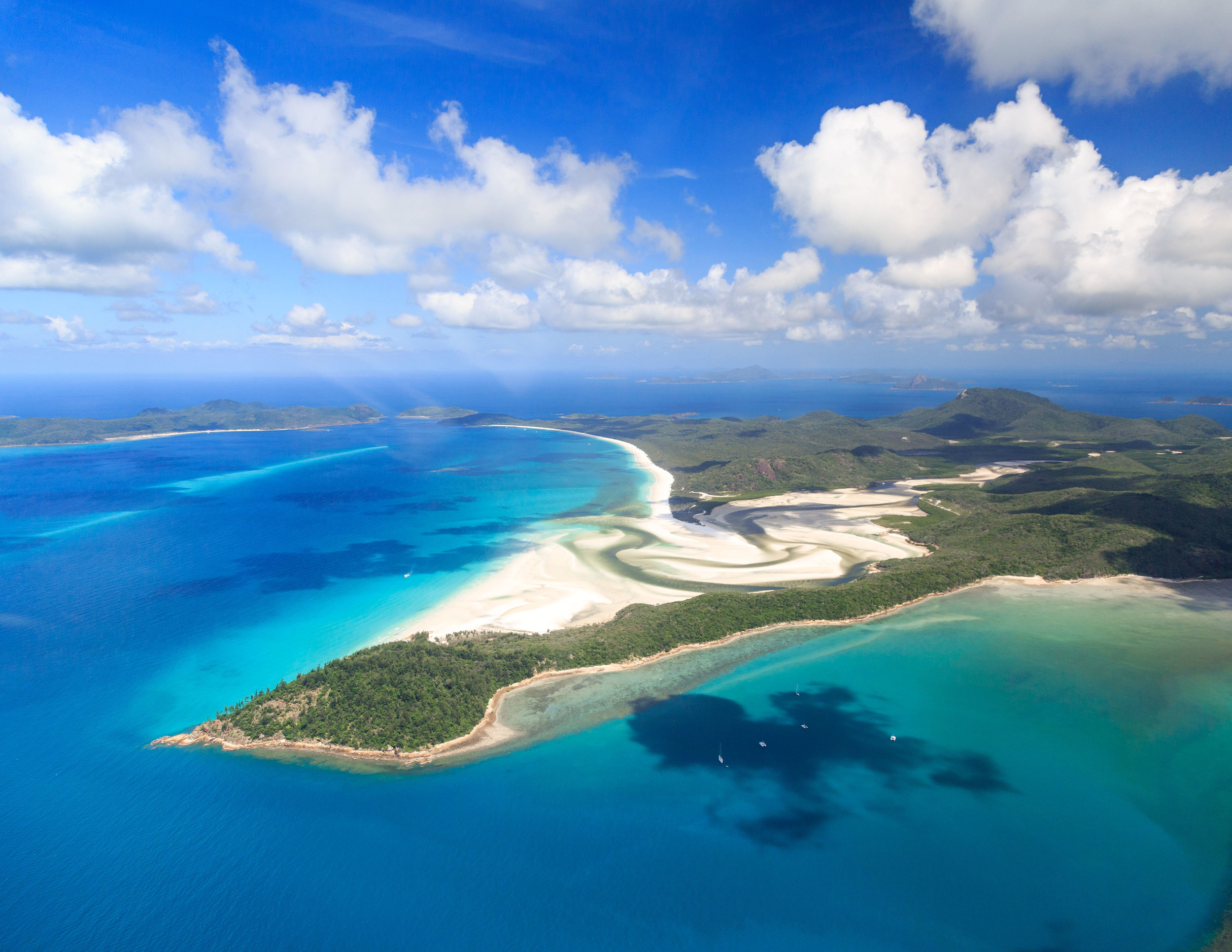 Prices in places such as the Whitsundays can sky rocket during public holidays and if you don't book in advance.