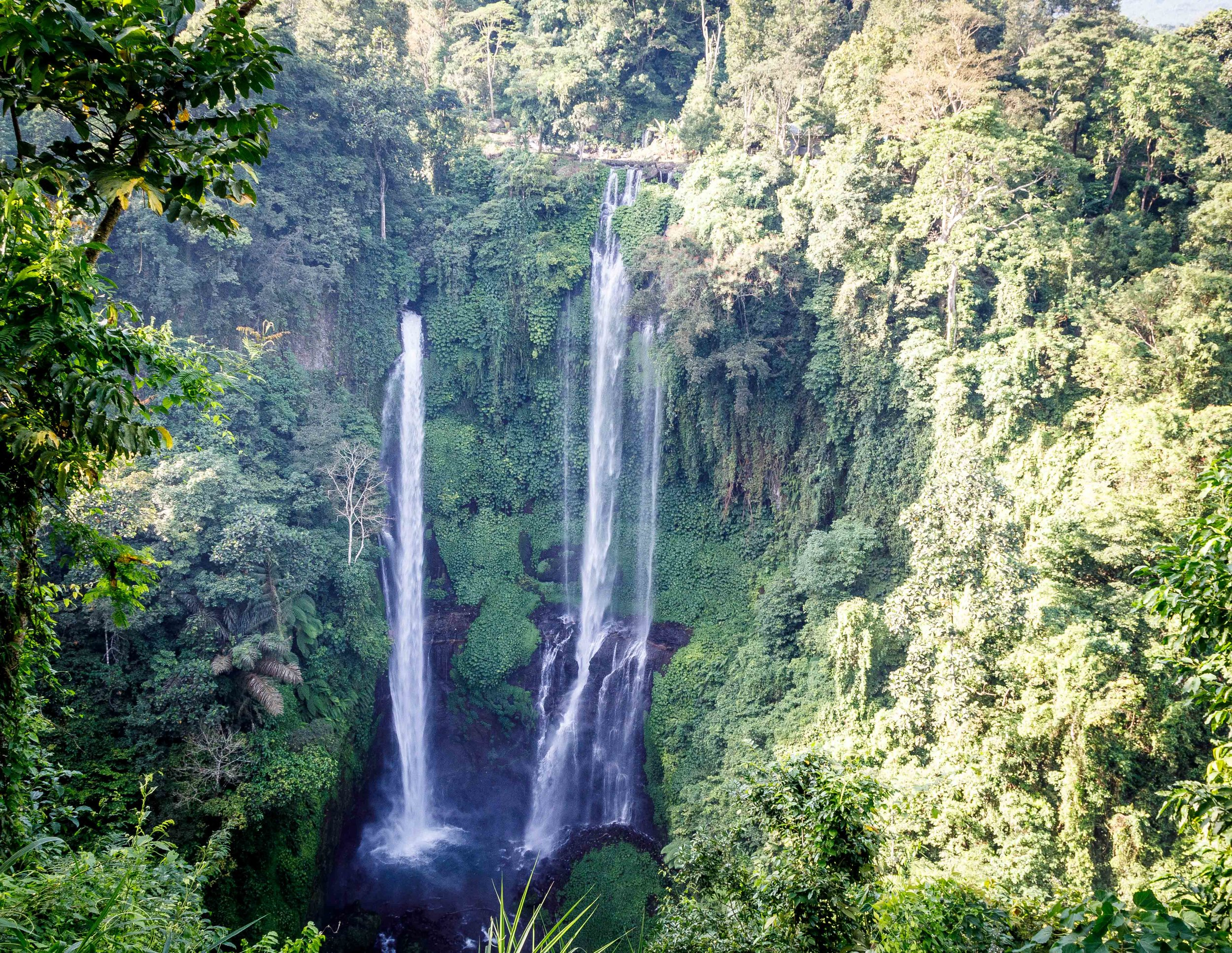 Best waterfalls in Bali: Sekumpul Waterfall