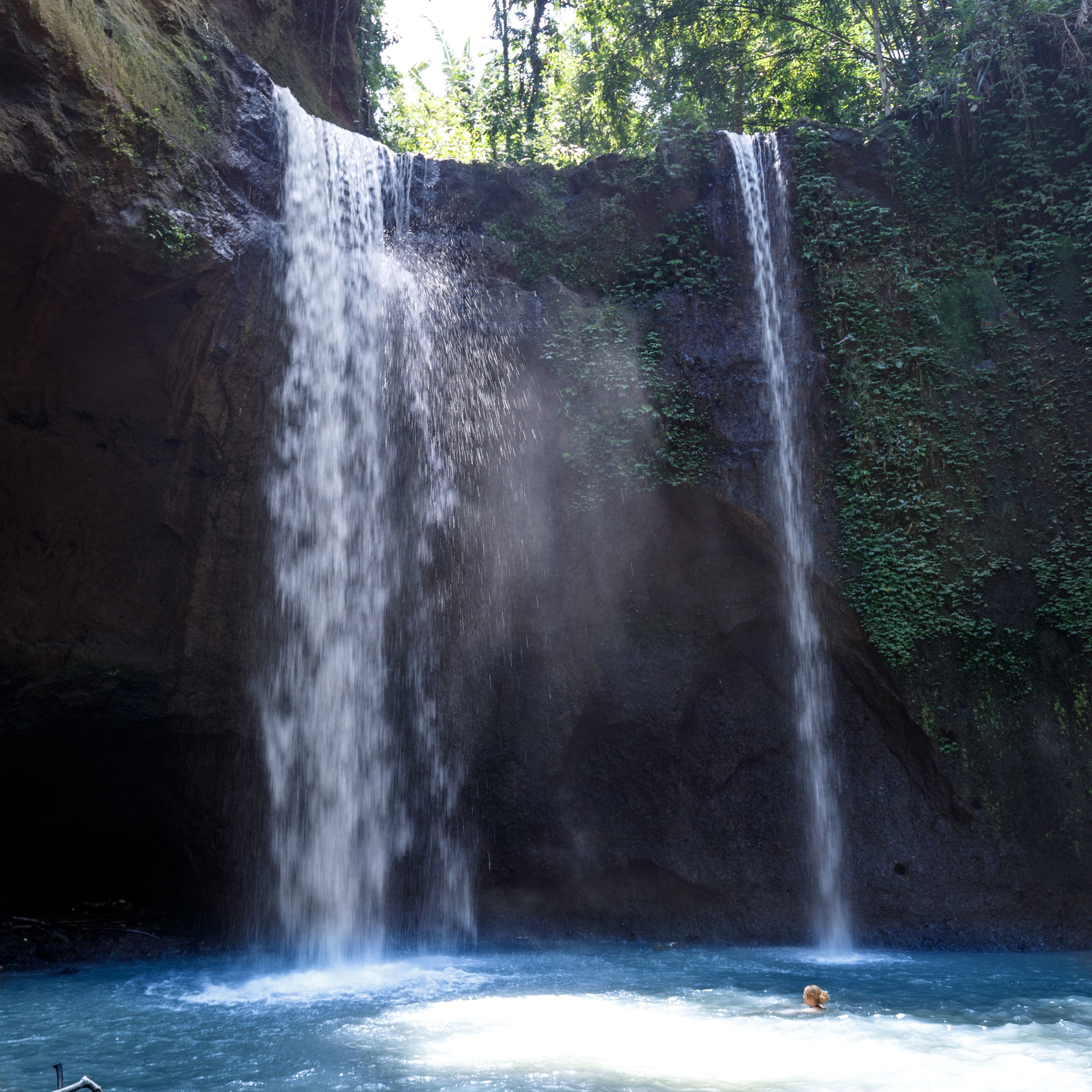 Best waterfalls in Bali: Tibumana Waterfall