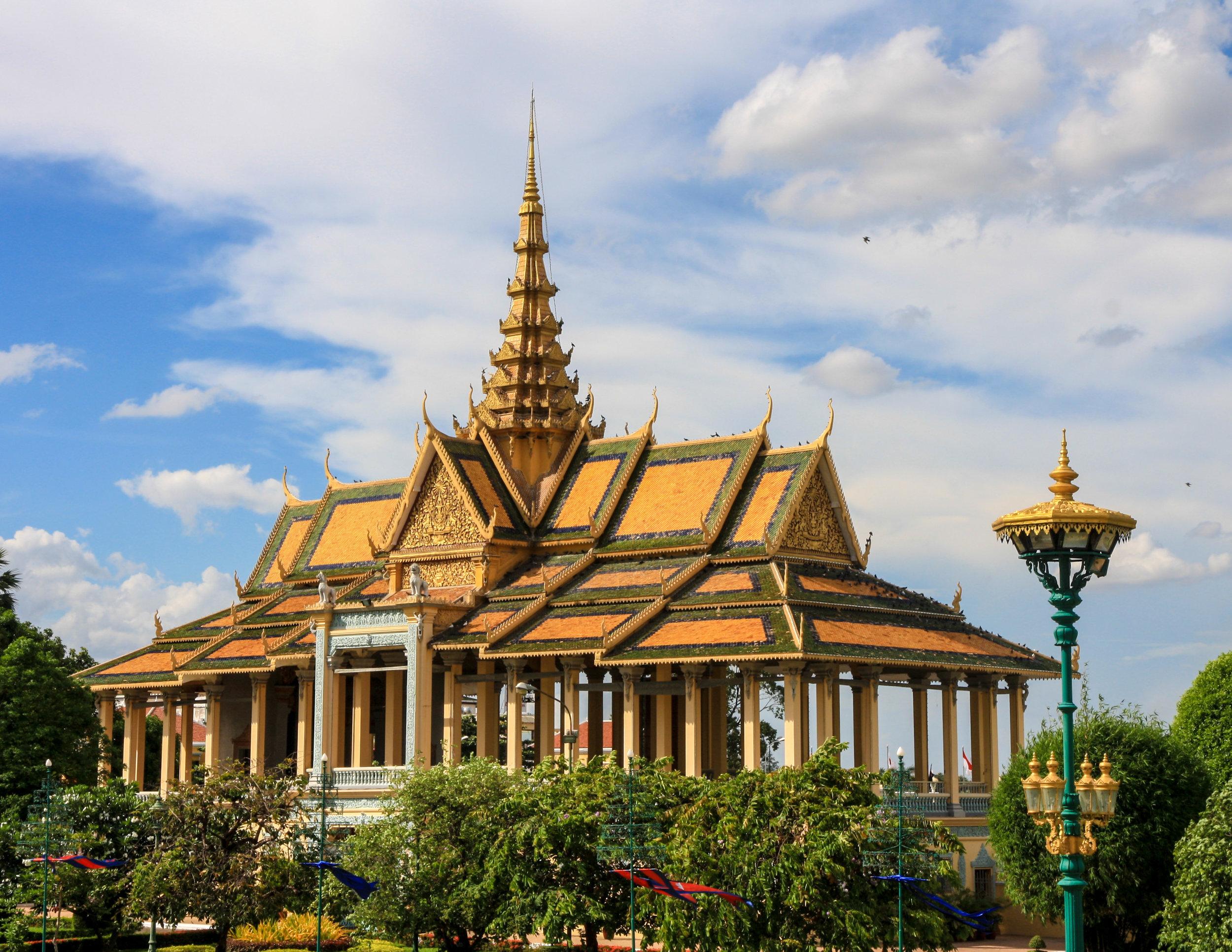 Cambodia Itinerary: Royal Palace