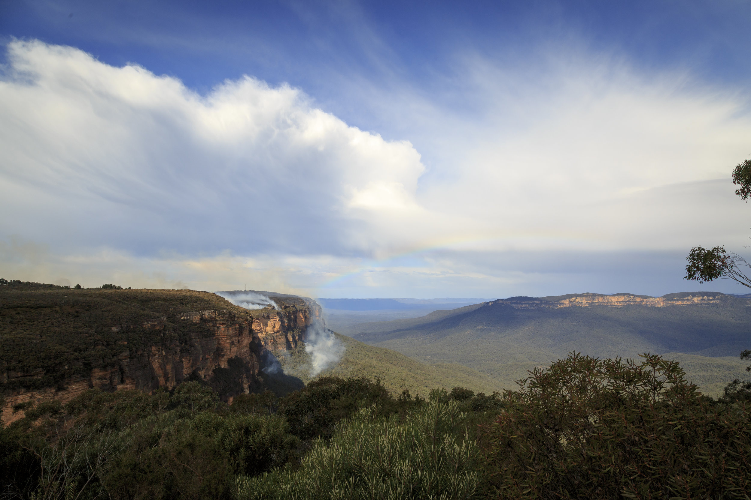 Best lookouts in the Blue Mountains: Wentworth Falls