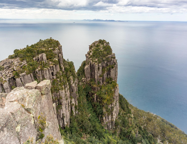 Two week Tasmania Itinerary: Bishop & Clerk