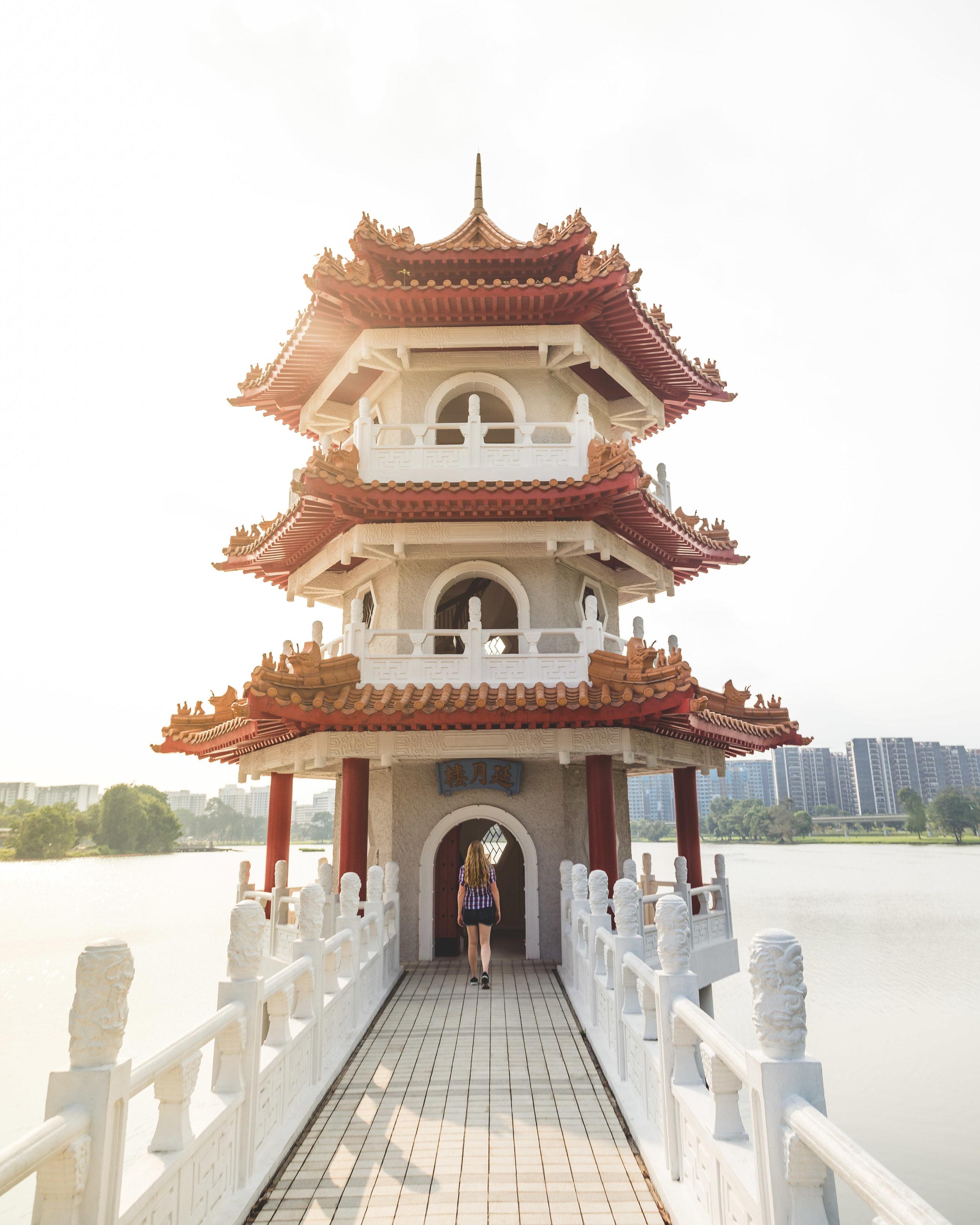 3 day Singapore itinerary: Chinese Gardens