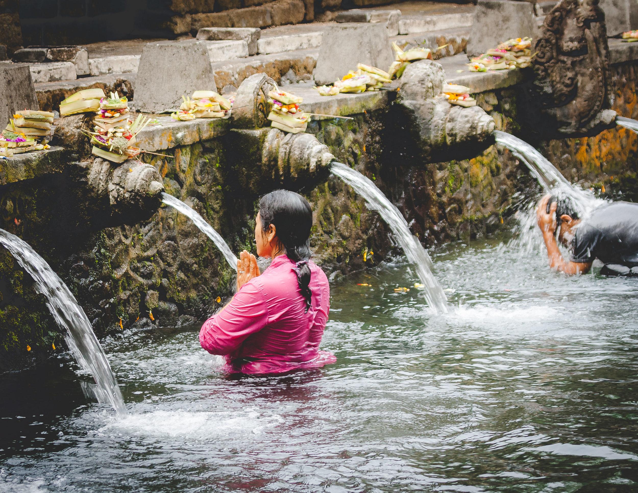 Bali Itinerary 7 days: Pura Tirta Empul