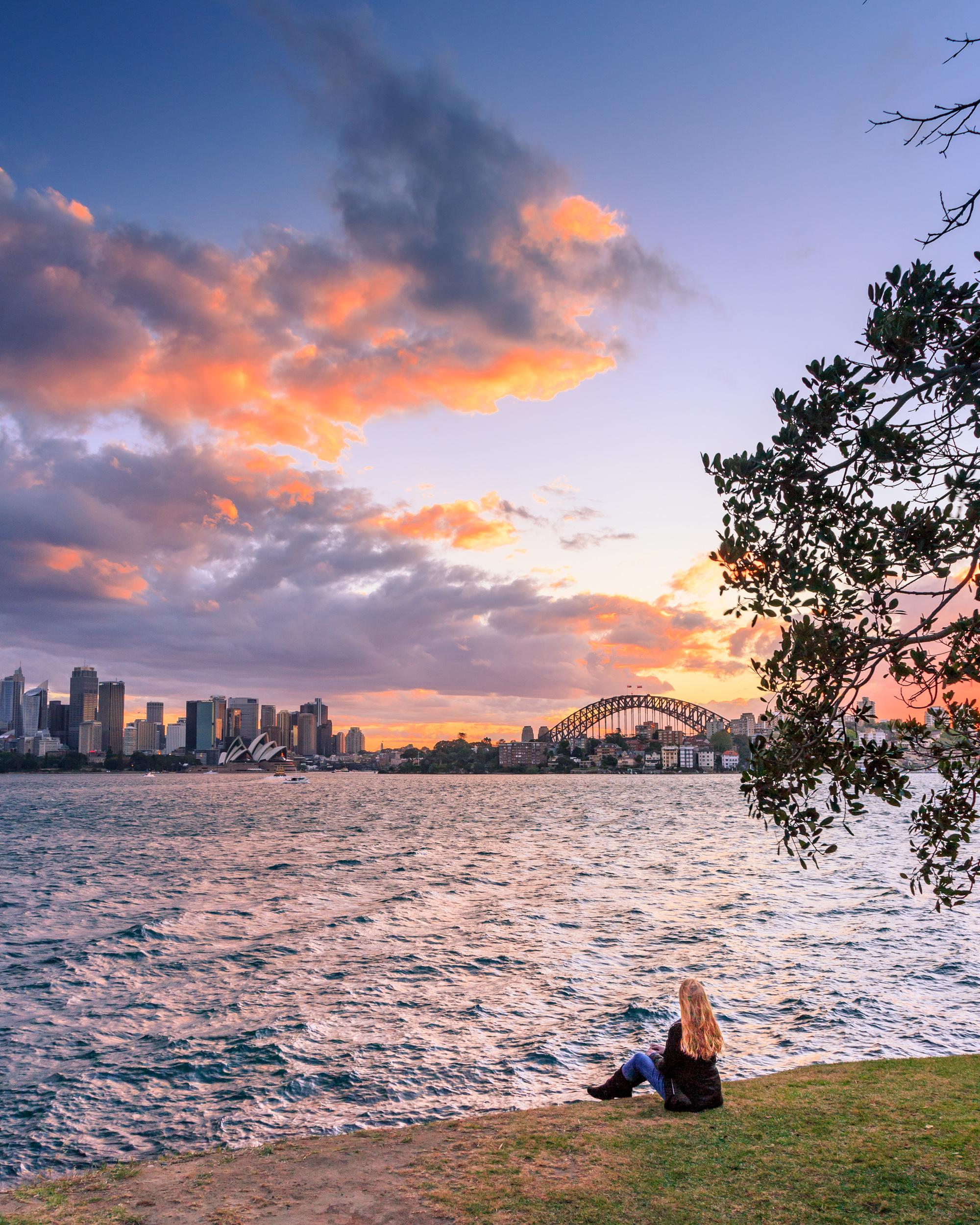 Instagrammable spots Sydney: Cremorne Point