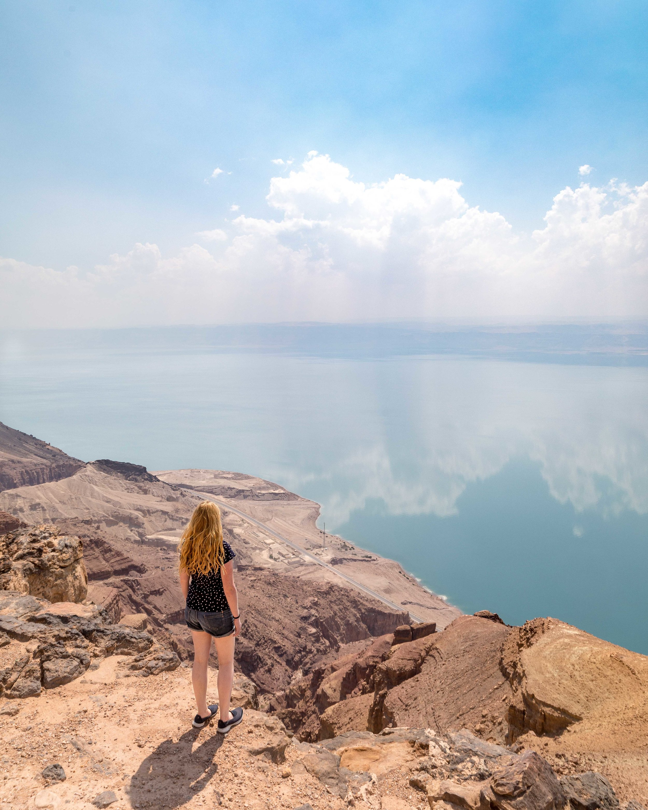 Things to do in the Dead Sea: hike the cliffs