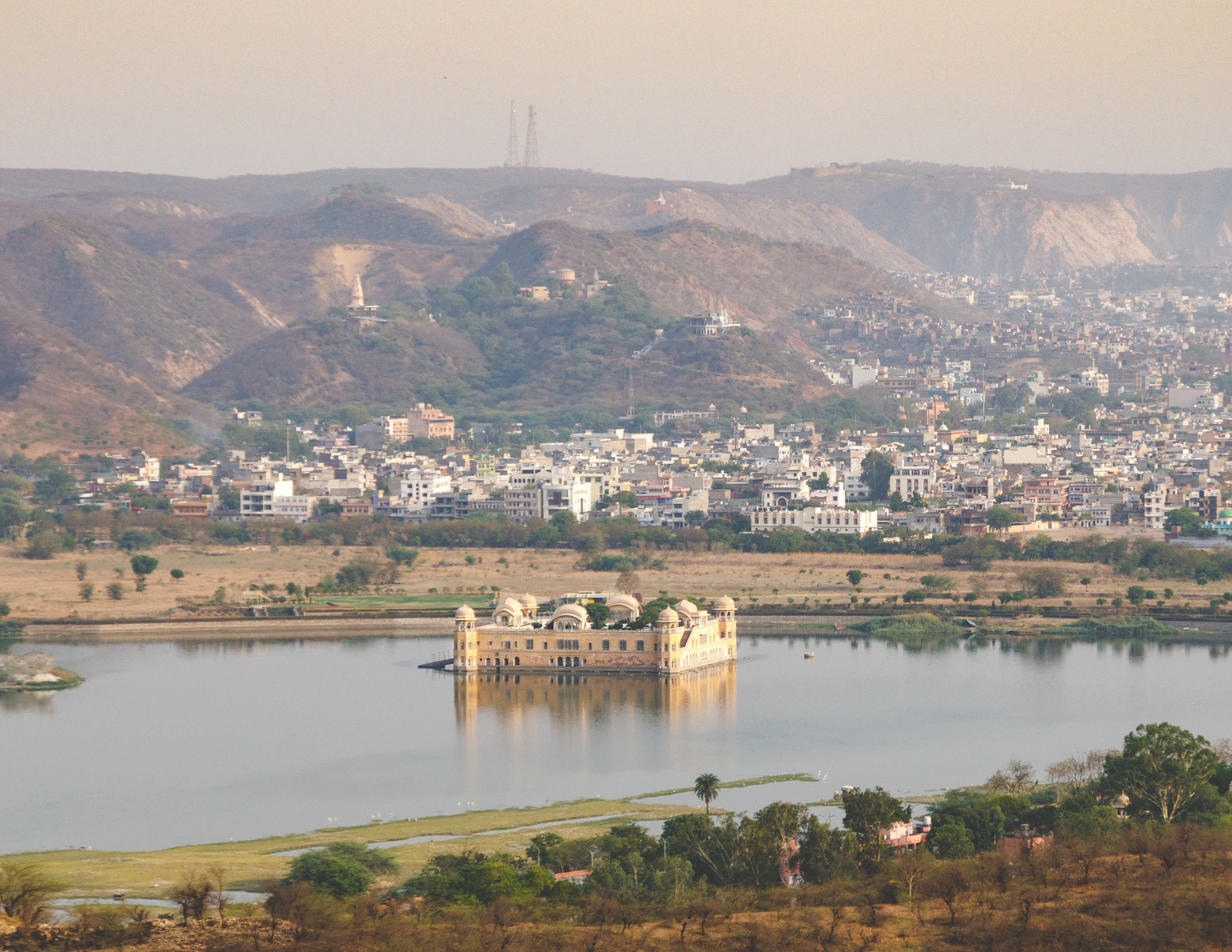 Jal Mahal from Nahargarh Fort, Jaipur