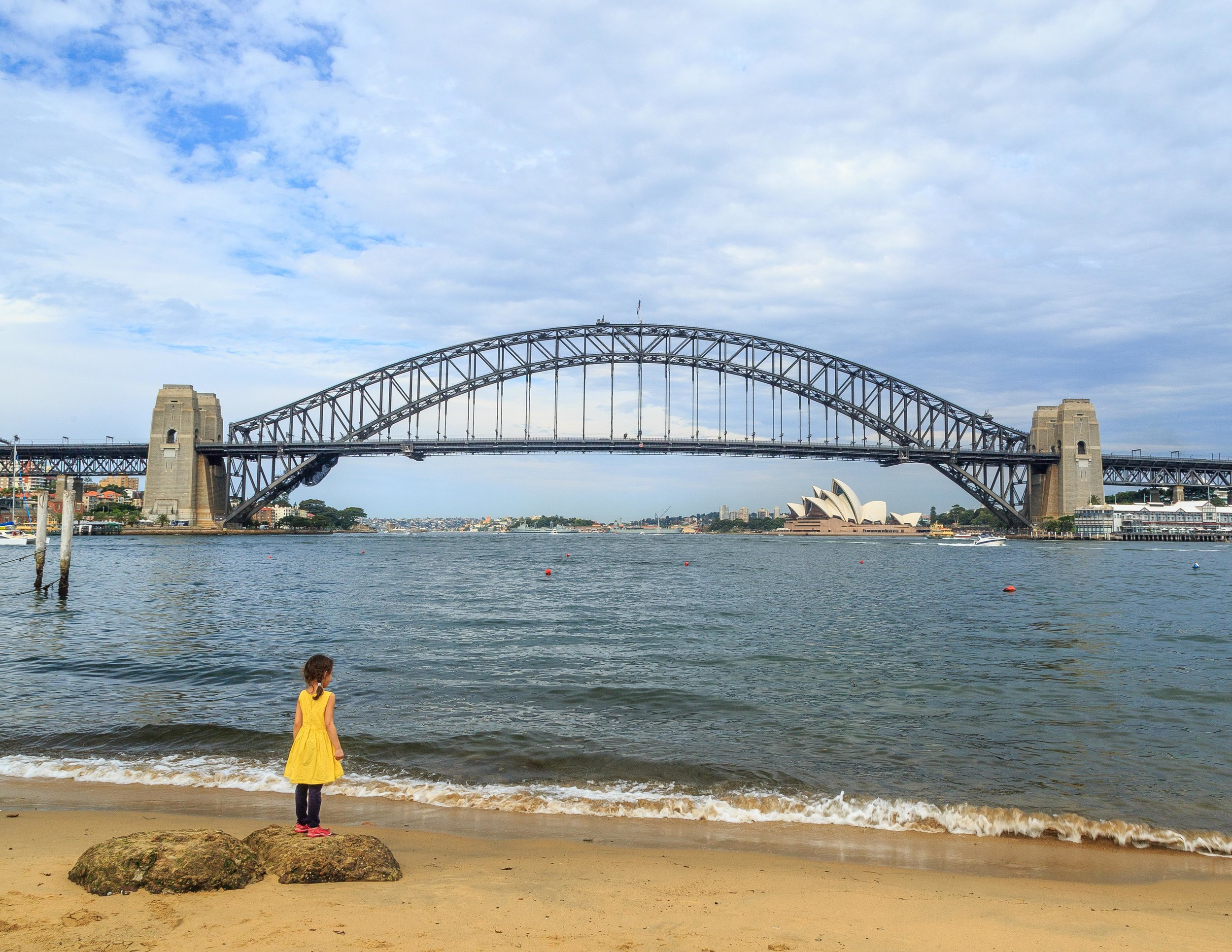 Best views of the Sydney Harbour Bridge - McMahons Point