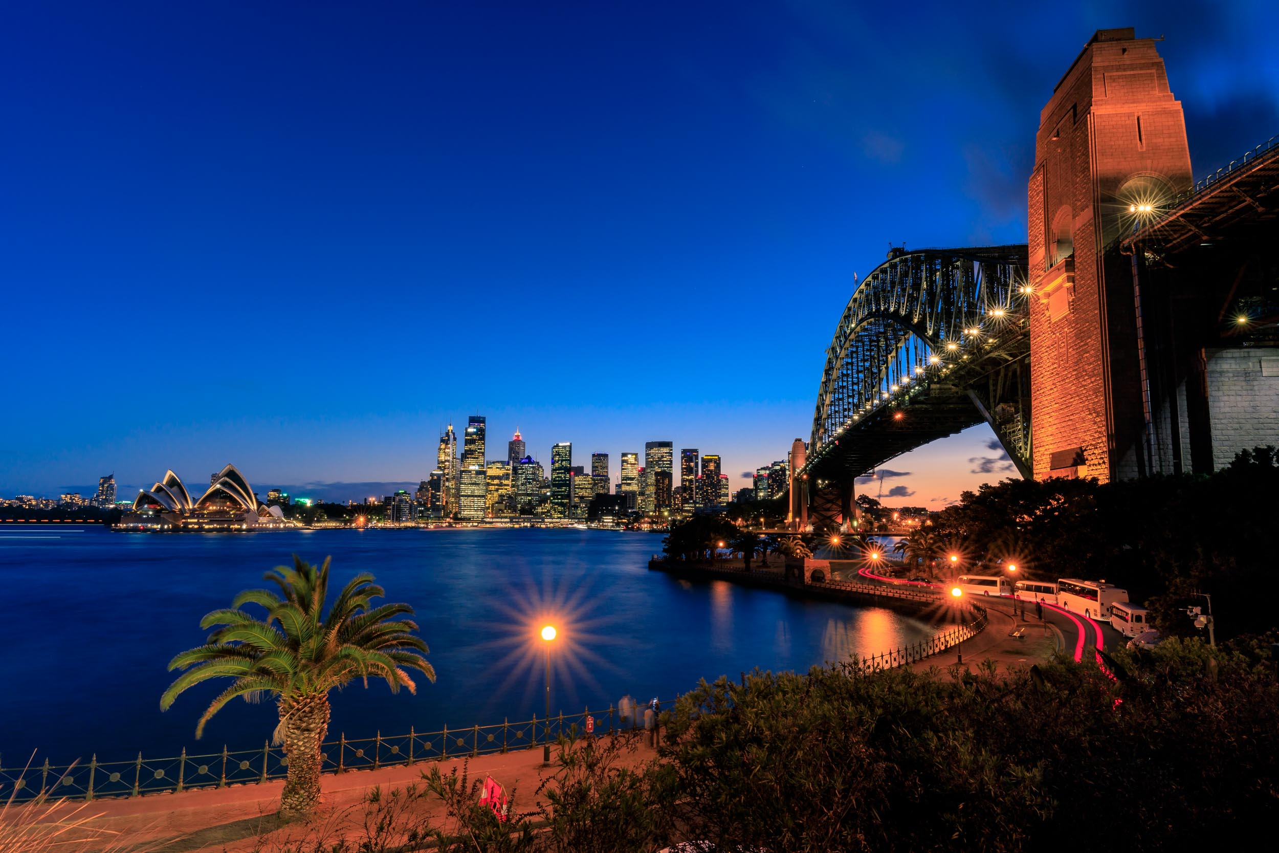 Best views of the Sydney Harbour Bridge - Kiribilli