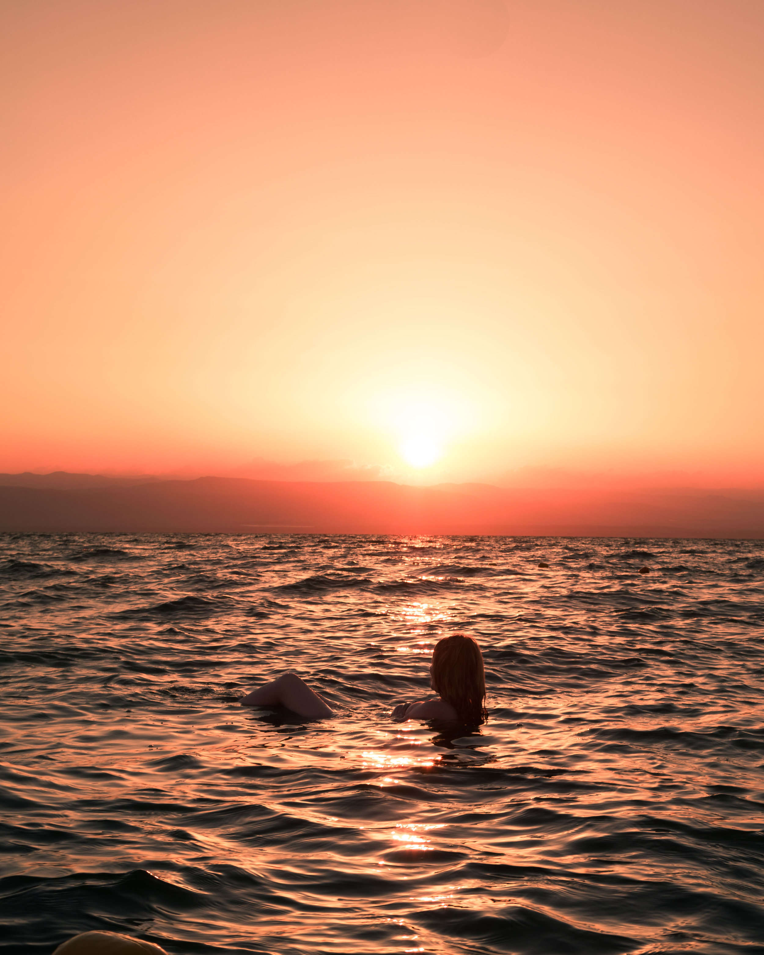 Instagrammable spots in Jordan - Floating in the Dead Sea