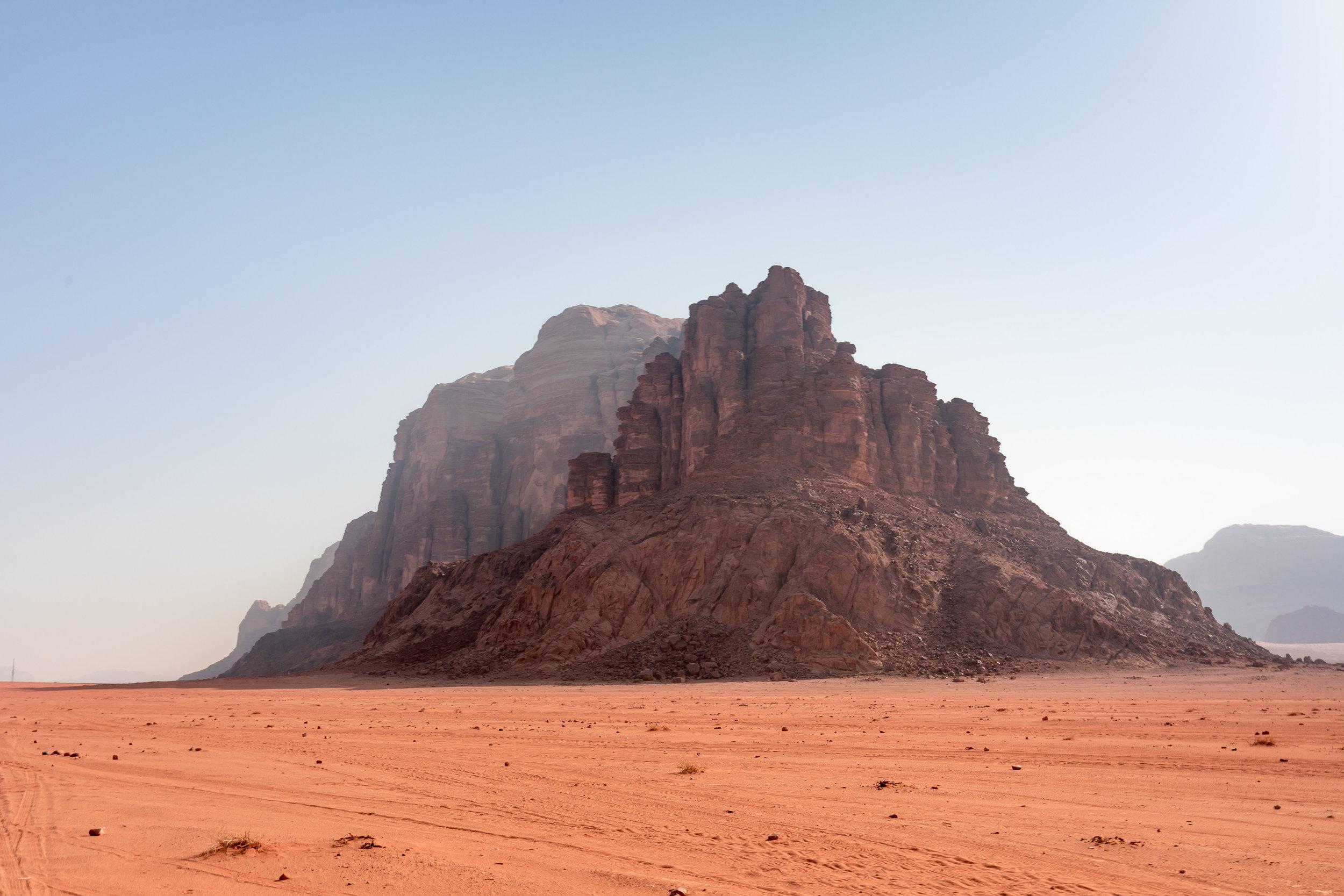 Wadi Rum - The stunning desert